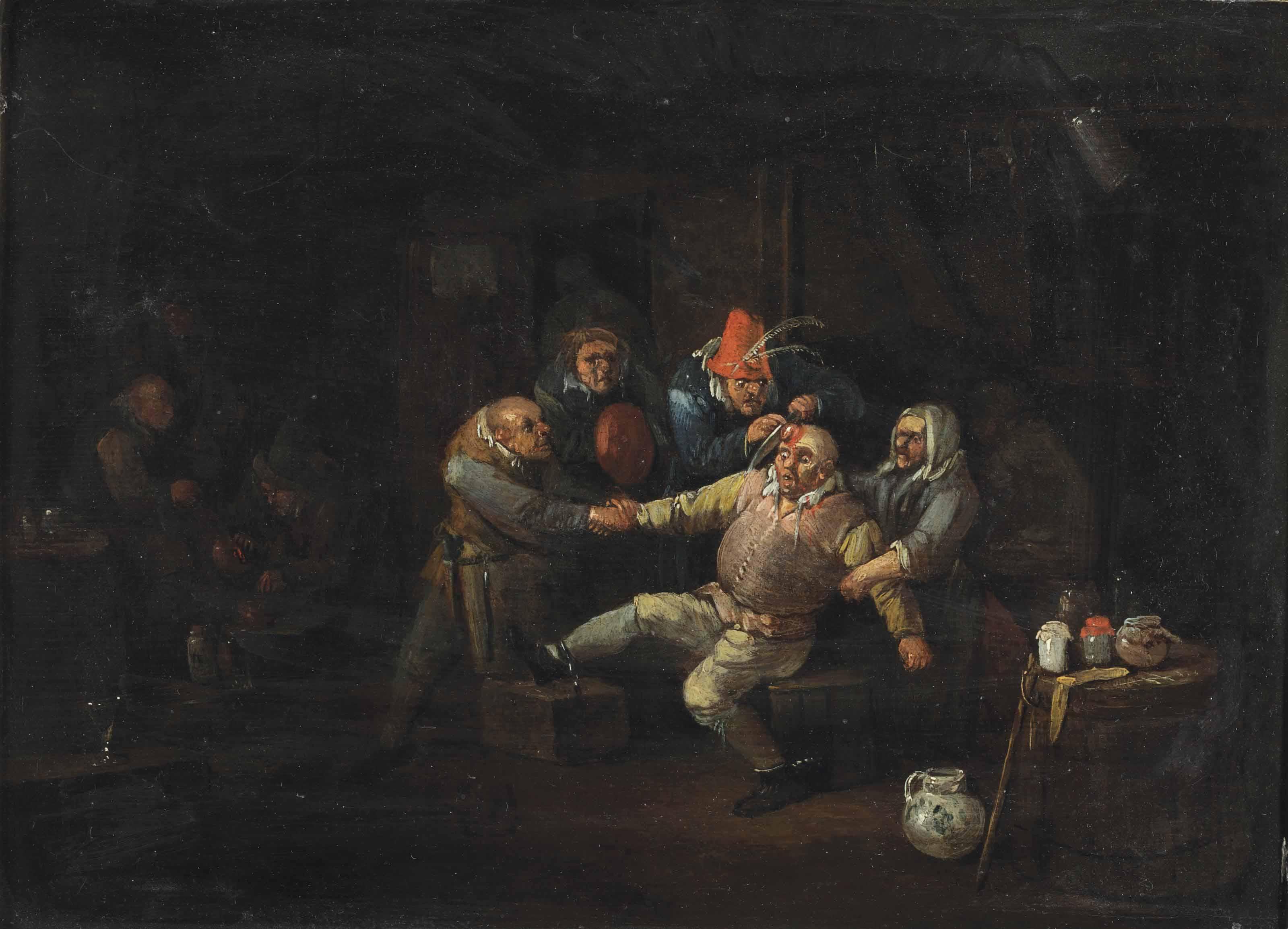 The surgeon's visit