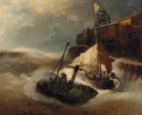 Bundling forces in rough seas