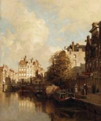Een gracht in Rotterdam