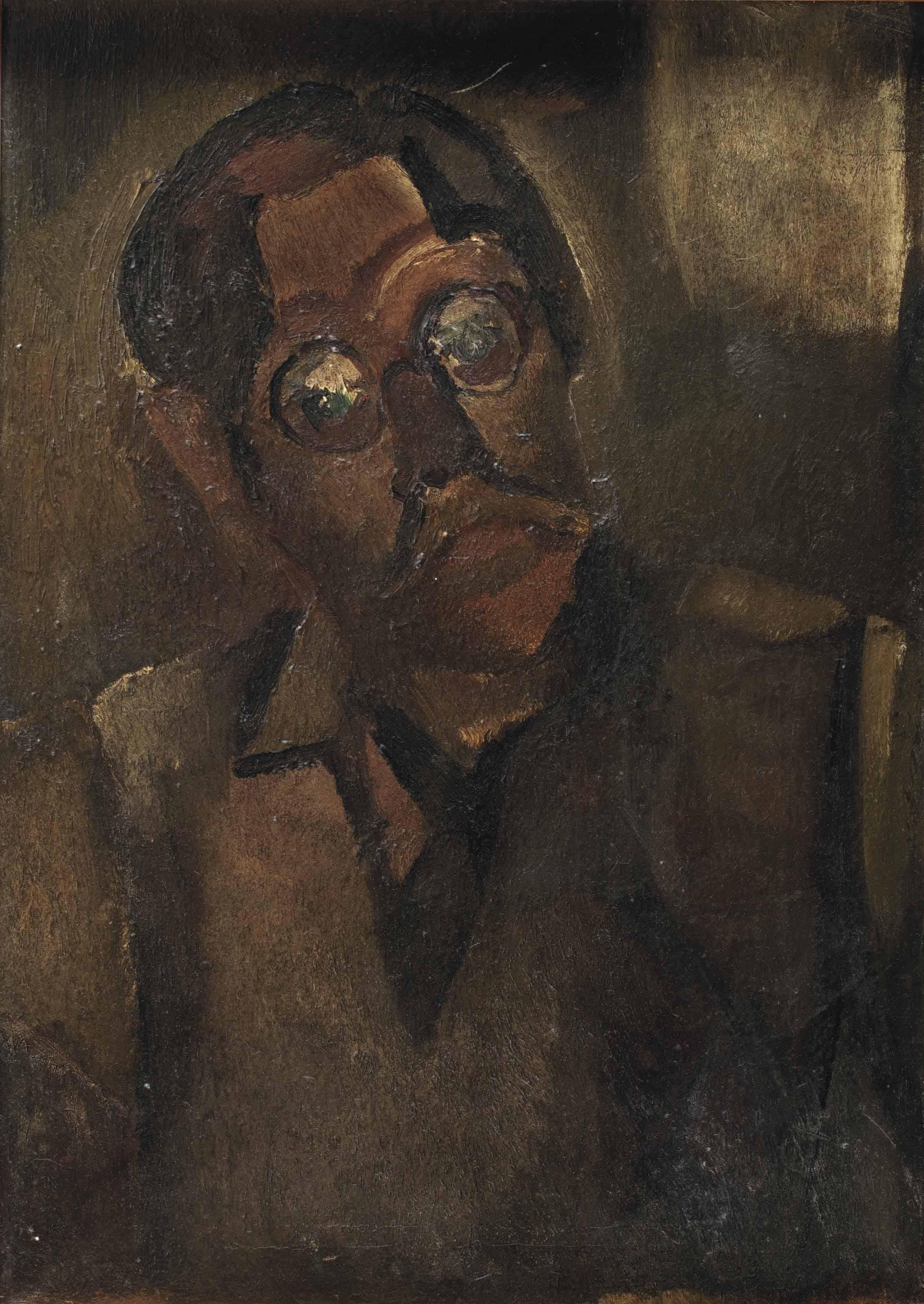 Portret van H. Wiegersma
