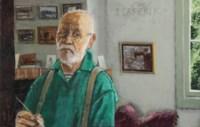Portret van een 69-jarige