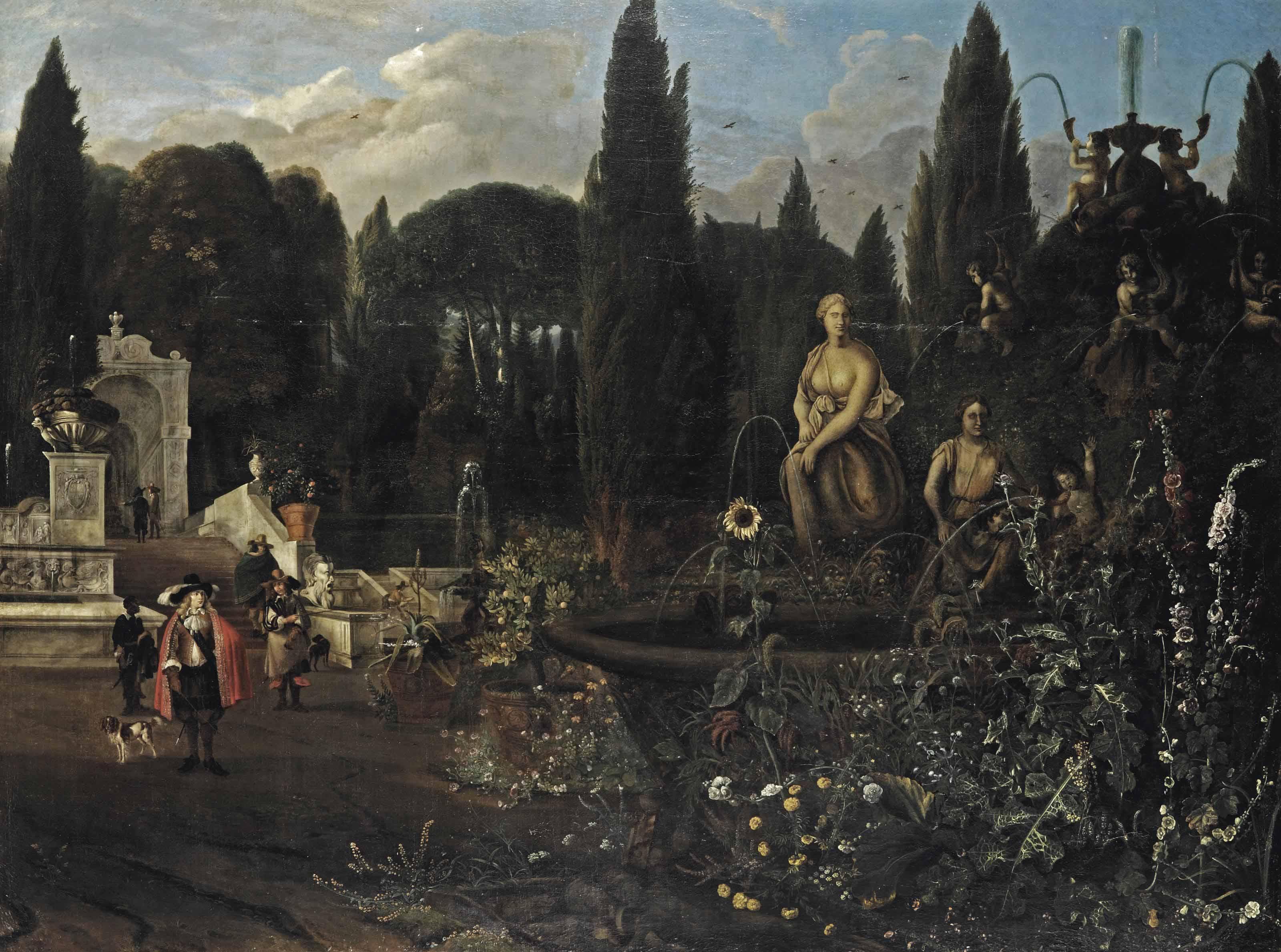 The Farnese Gardens, Rome