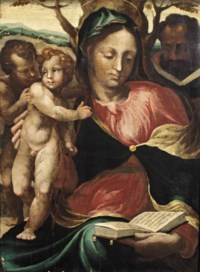 The Madonna and Child with the Infant Saint John the Baptist and Saint Joseph