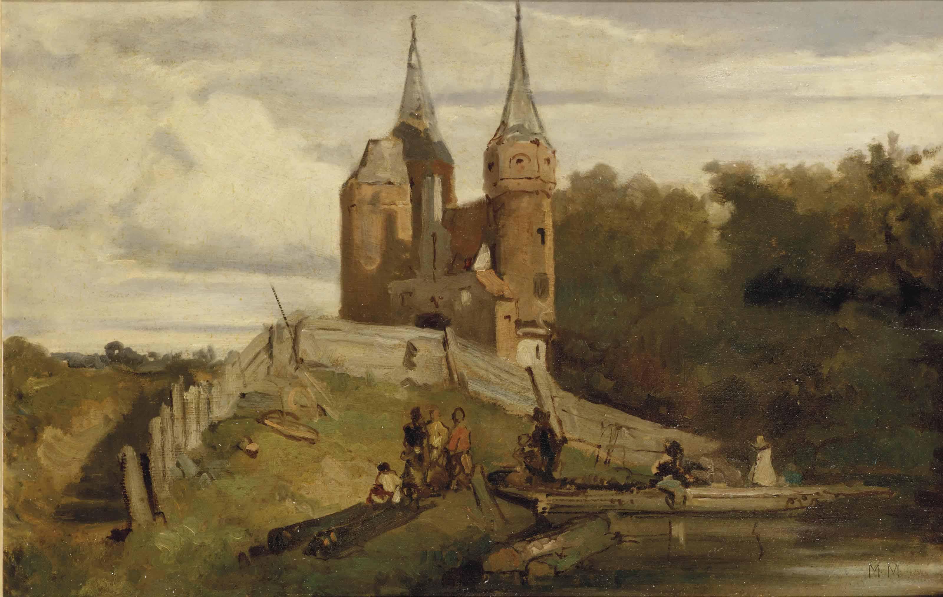 De oude stadspoort van Delft: The old citygate, Delft