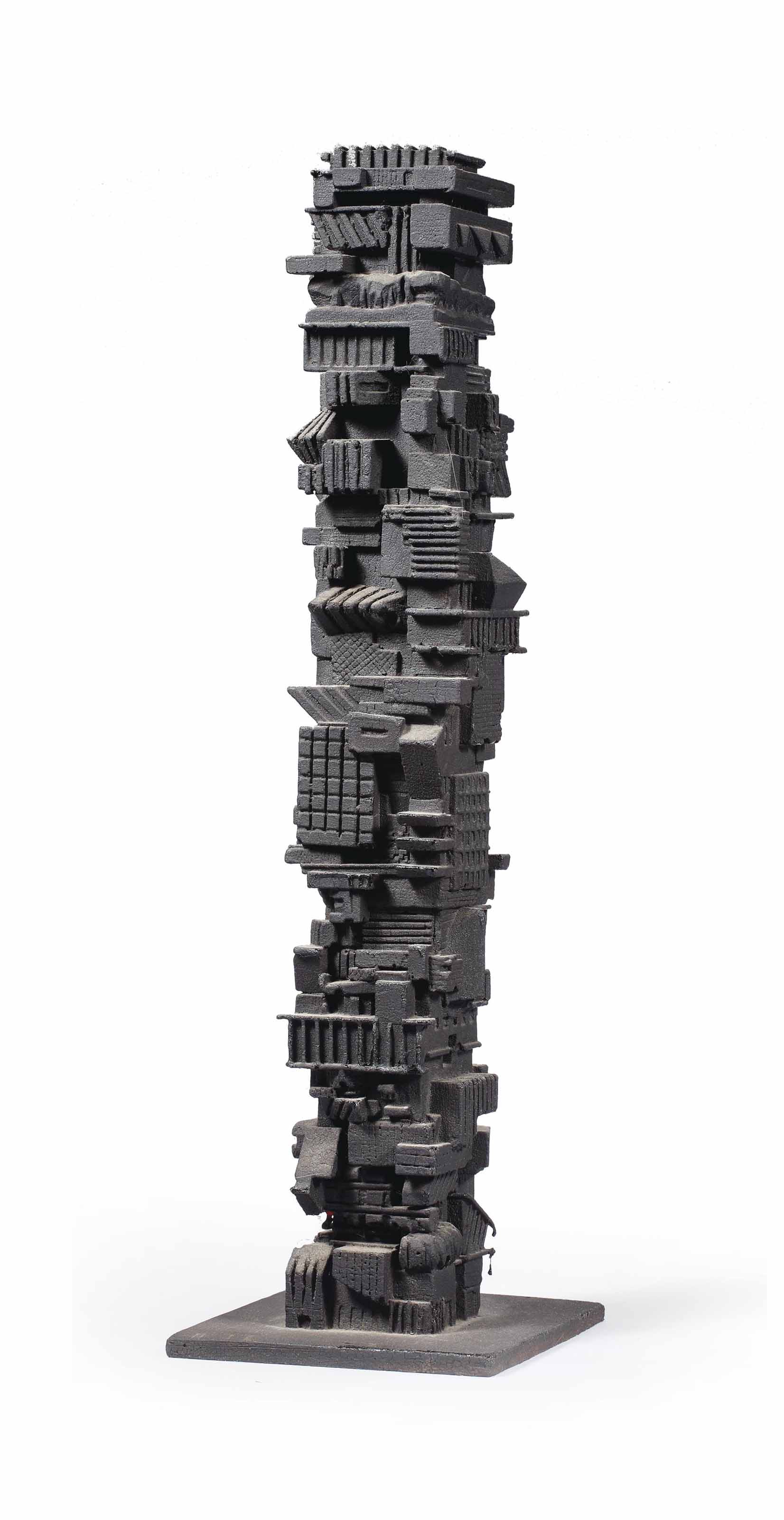 Maquette for non-homogenous apartment, San Paolo, Brazil