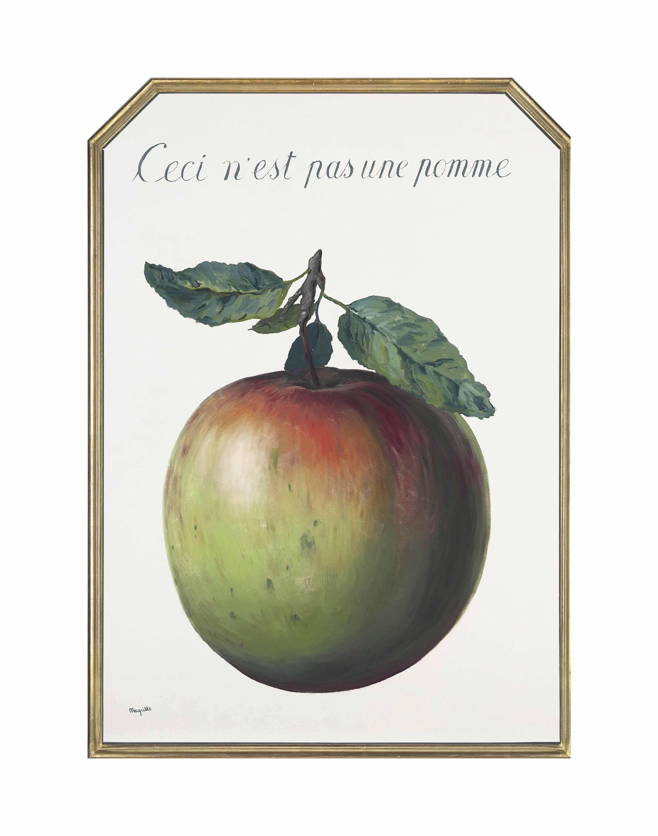 Ceci n'est pas une pomme(1964)