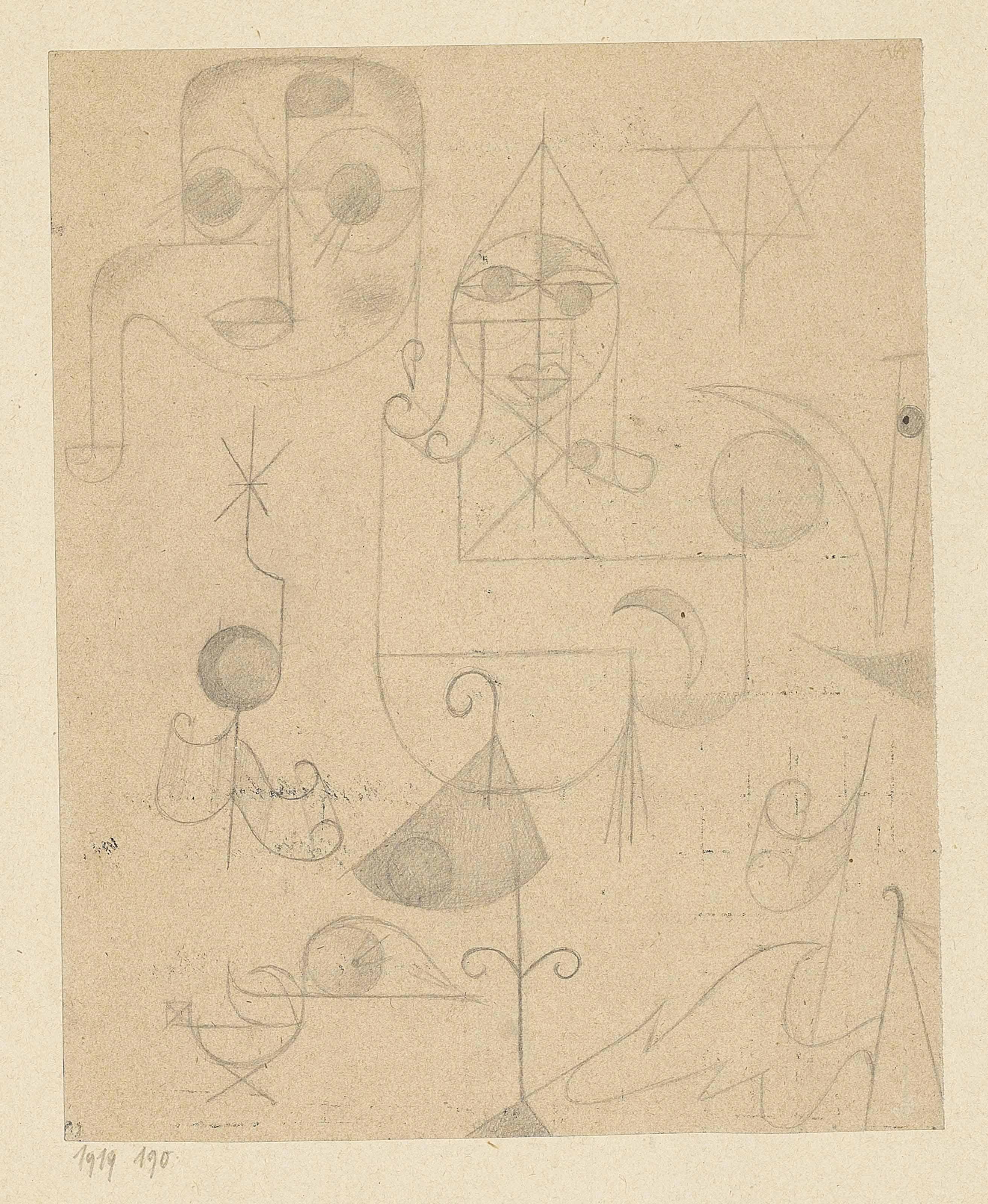 paul klee 1879 1940 gestirne und sternbilder stars and constellations christie s