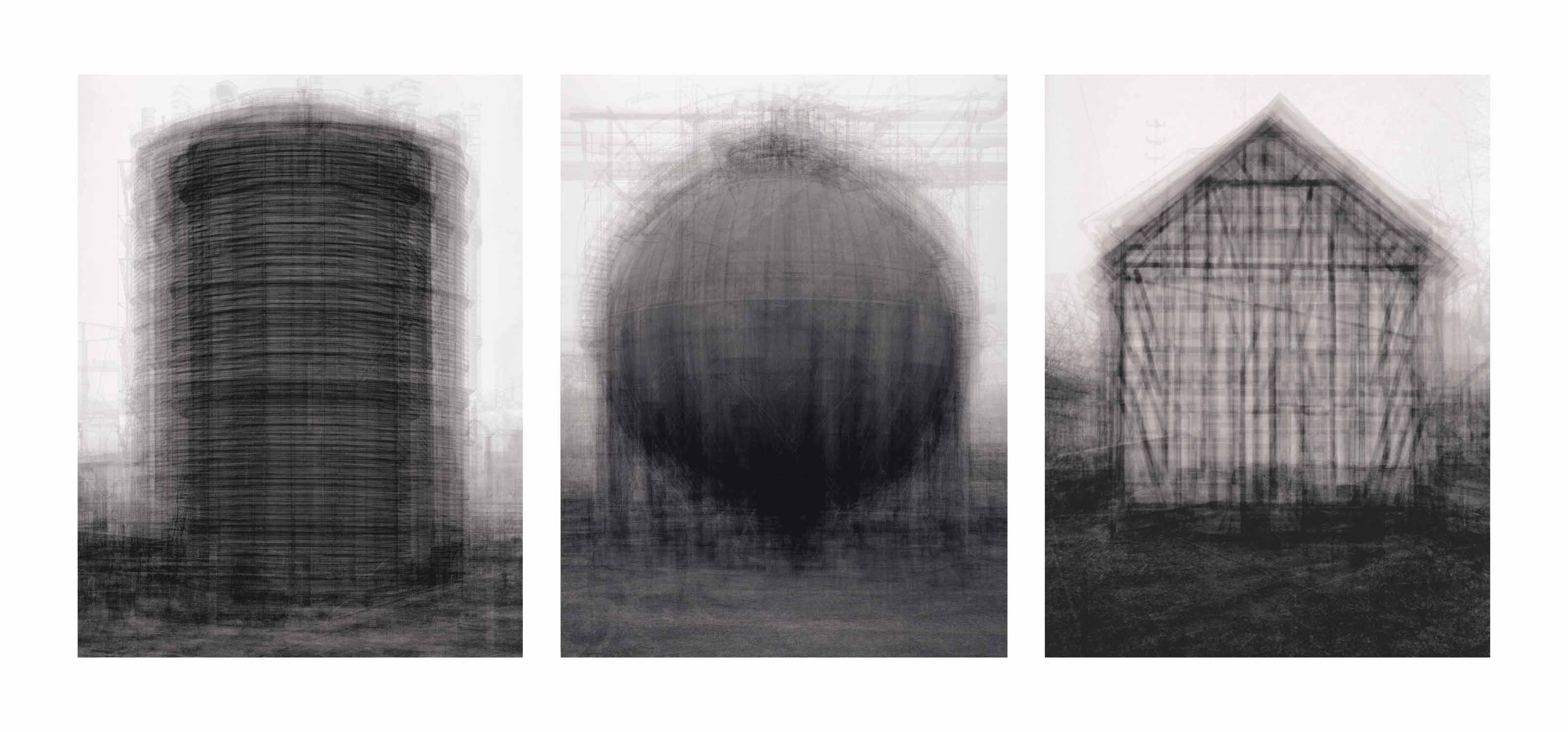 (i) Every... Bernd and Hilla Becher Prison Type Gasholders (ii) Every... Bernd and Hilla Becher Spherical Type Gasholders (iii) Every... Bernd and Hilla Becher Gable Side Houses