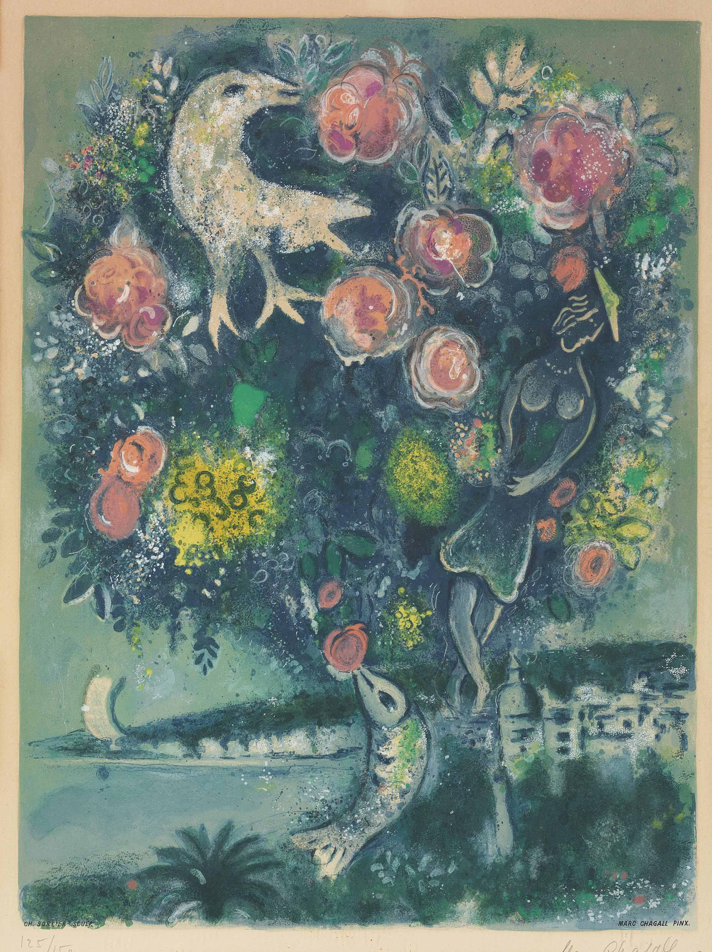 After Marc Chagall, by Charles