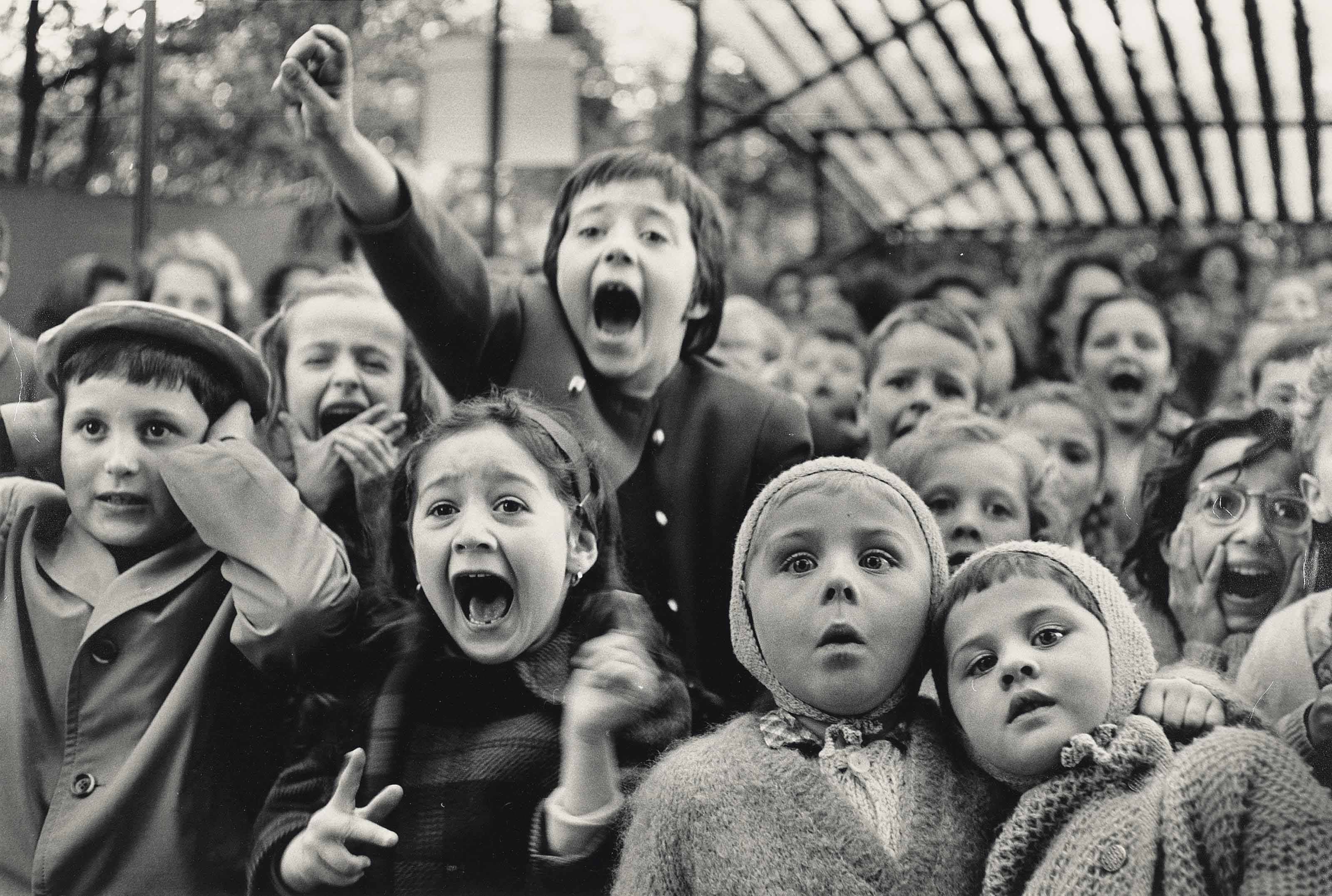 Puppet theatre, Paris, 1963