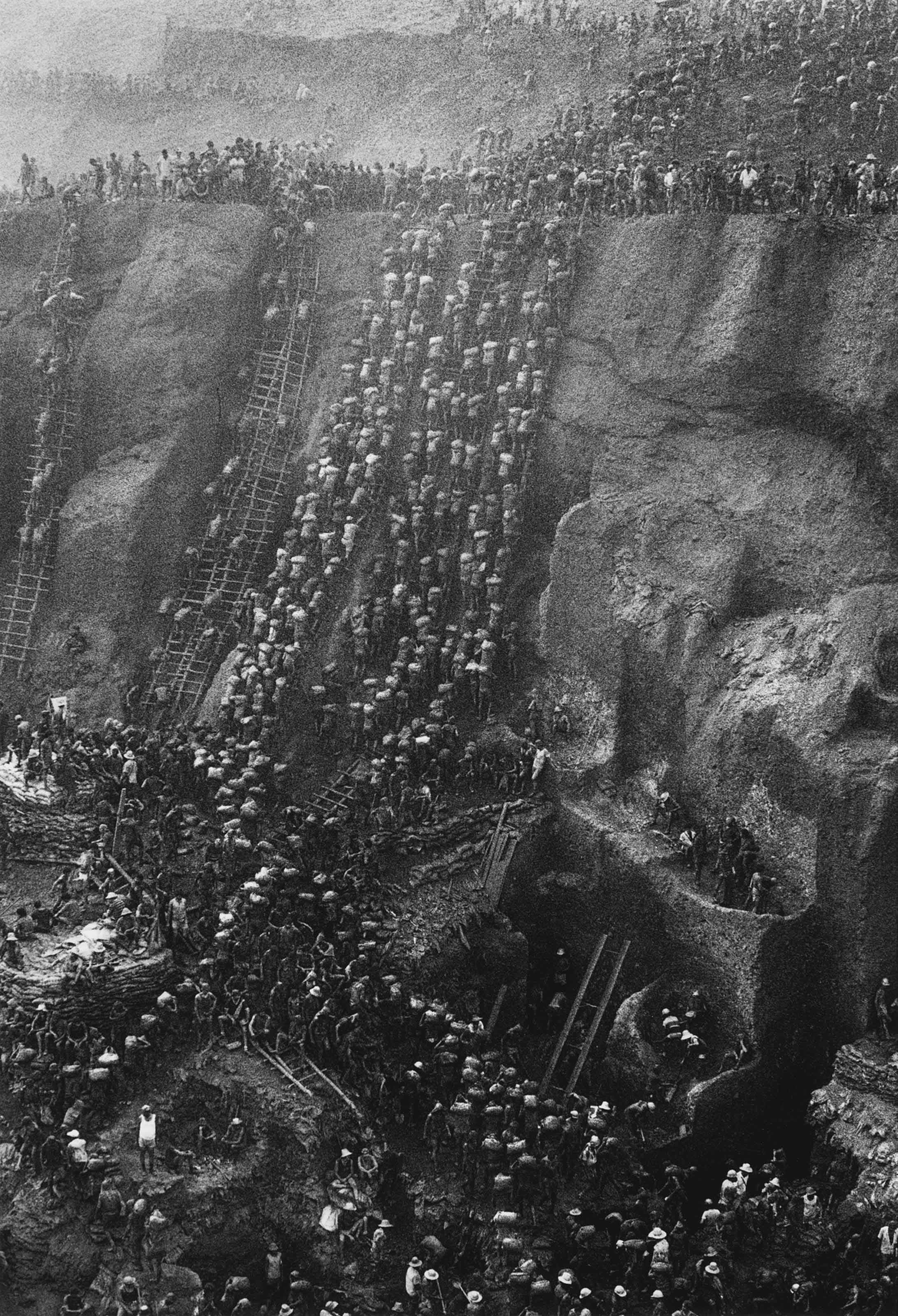 Serra Pelada goldmine, Brazil, 1986