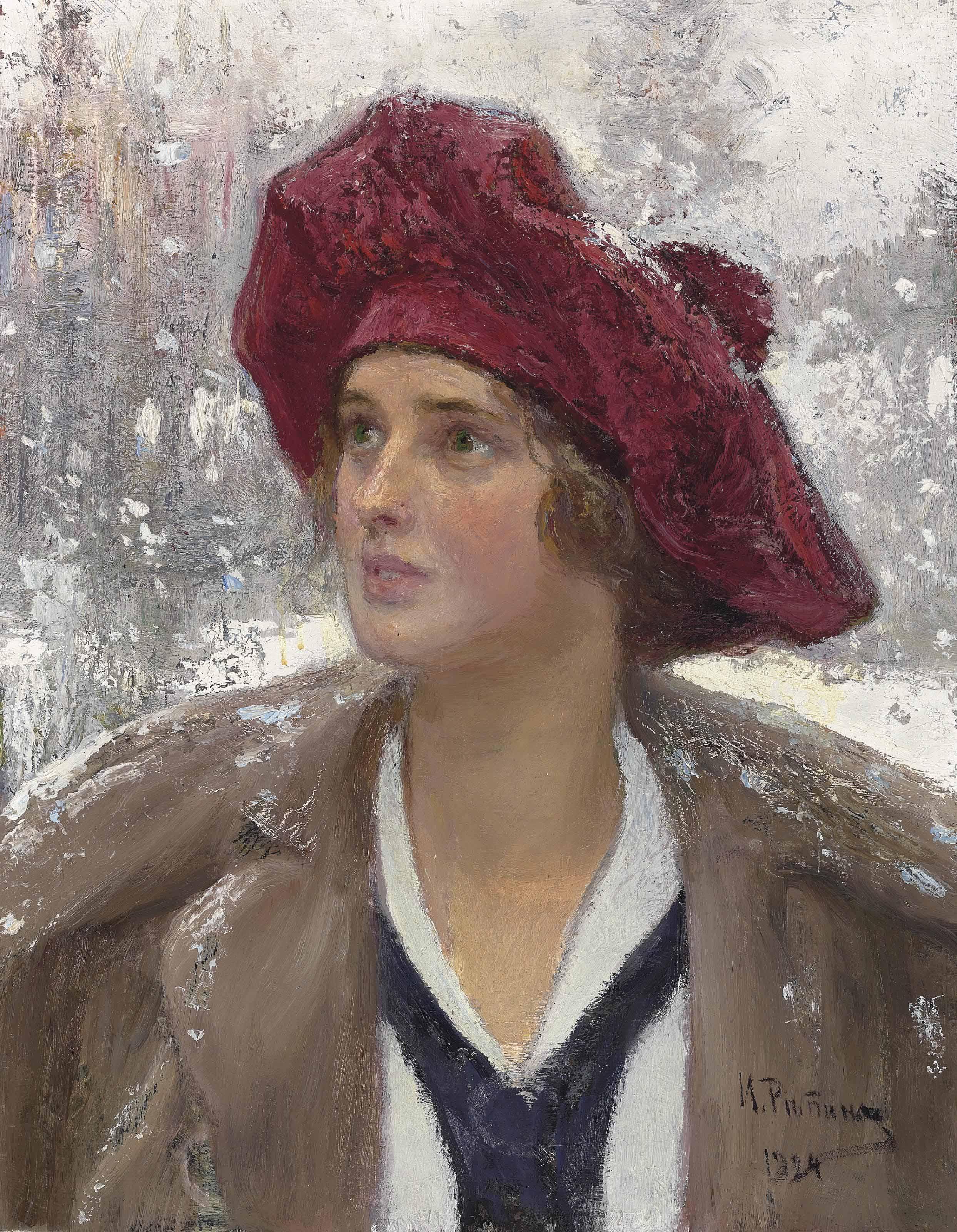 Portrait of Natalia Maksimova