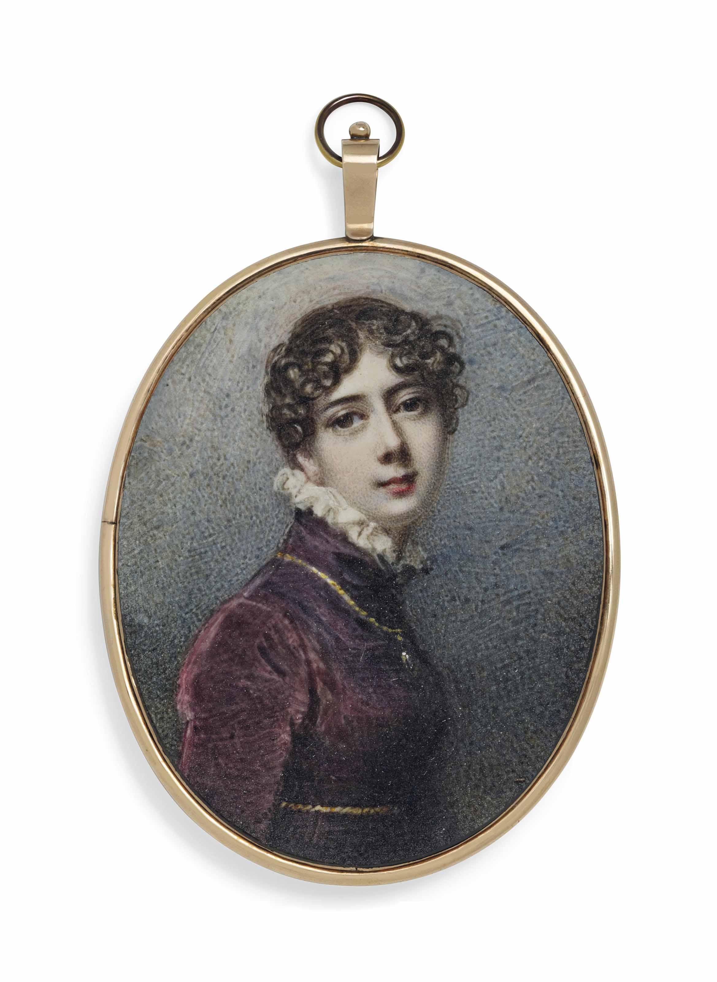 ANNE MEE, NEE FOLDSONE (BRITISH, C. 1770/1775 - 1851)