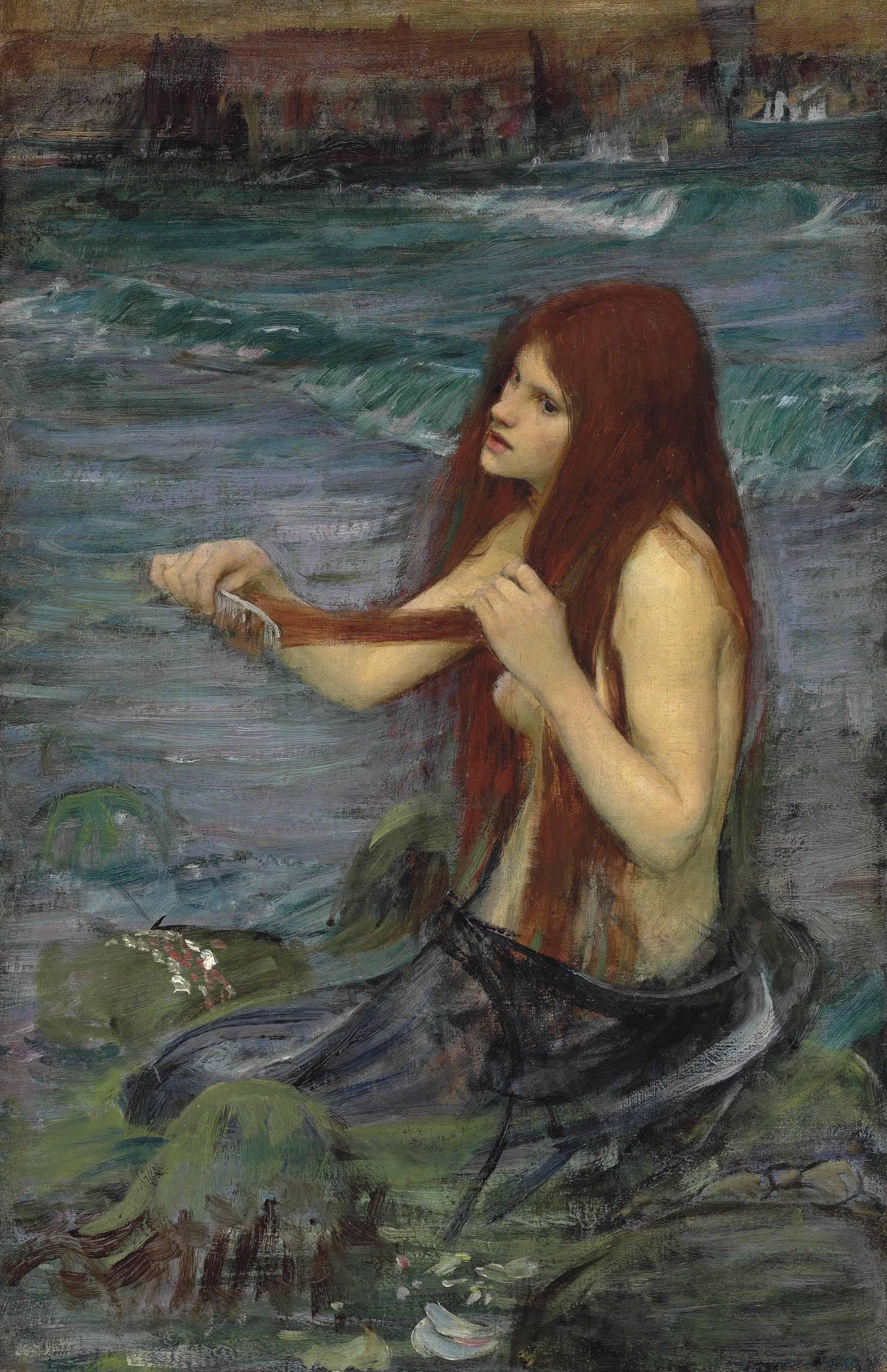 Sketch for 'A Mermaid'