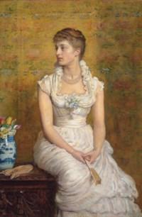 Portrait of Lady Campbell, née Nina Lehmann