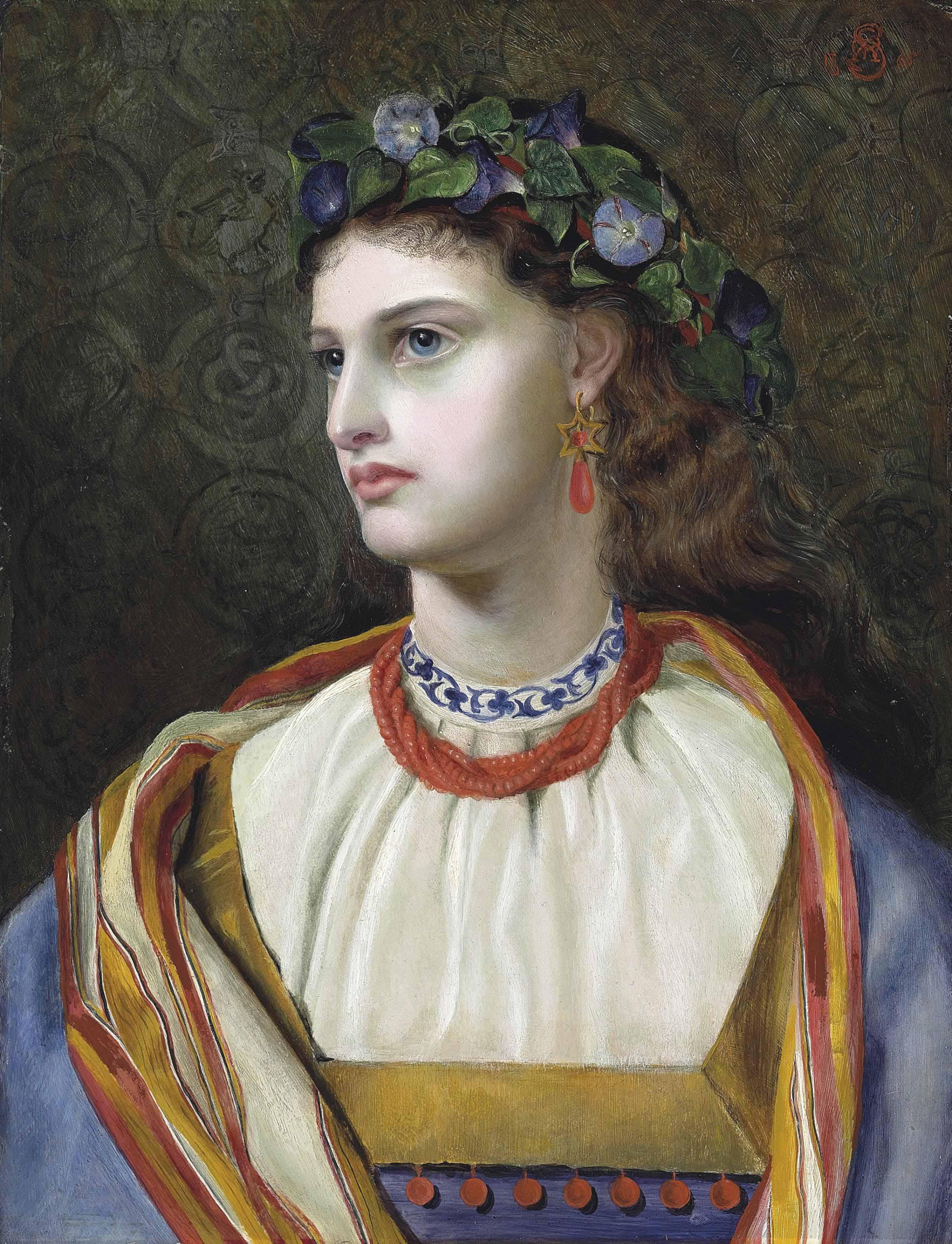 Emma Sandys (1834-1877) , Rosabelle