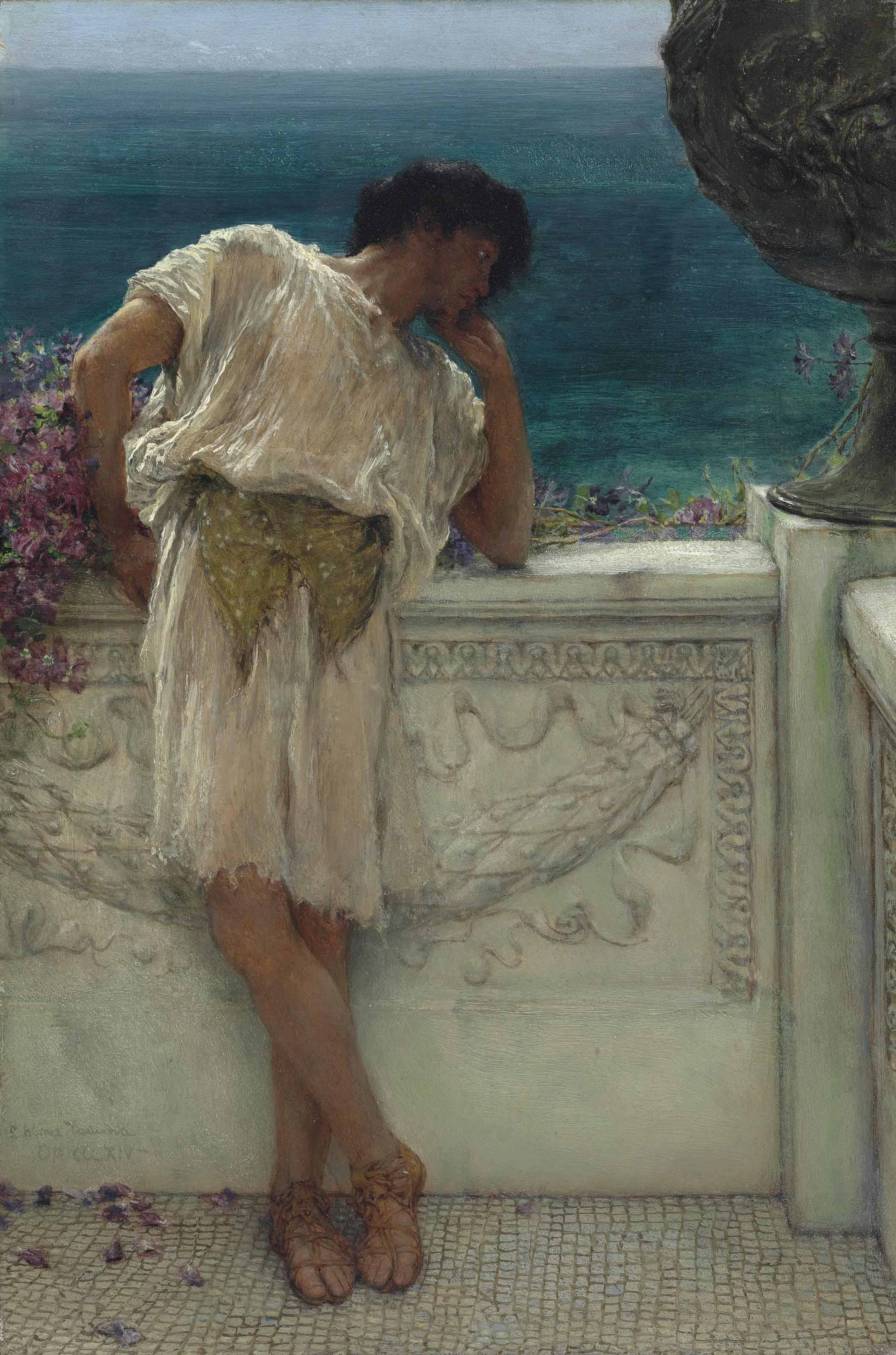Sir Lawrence Alma Tadema O M R A 1836 1912 The