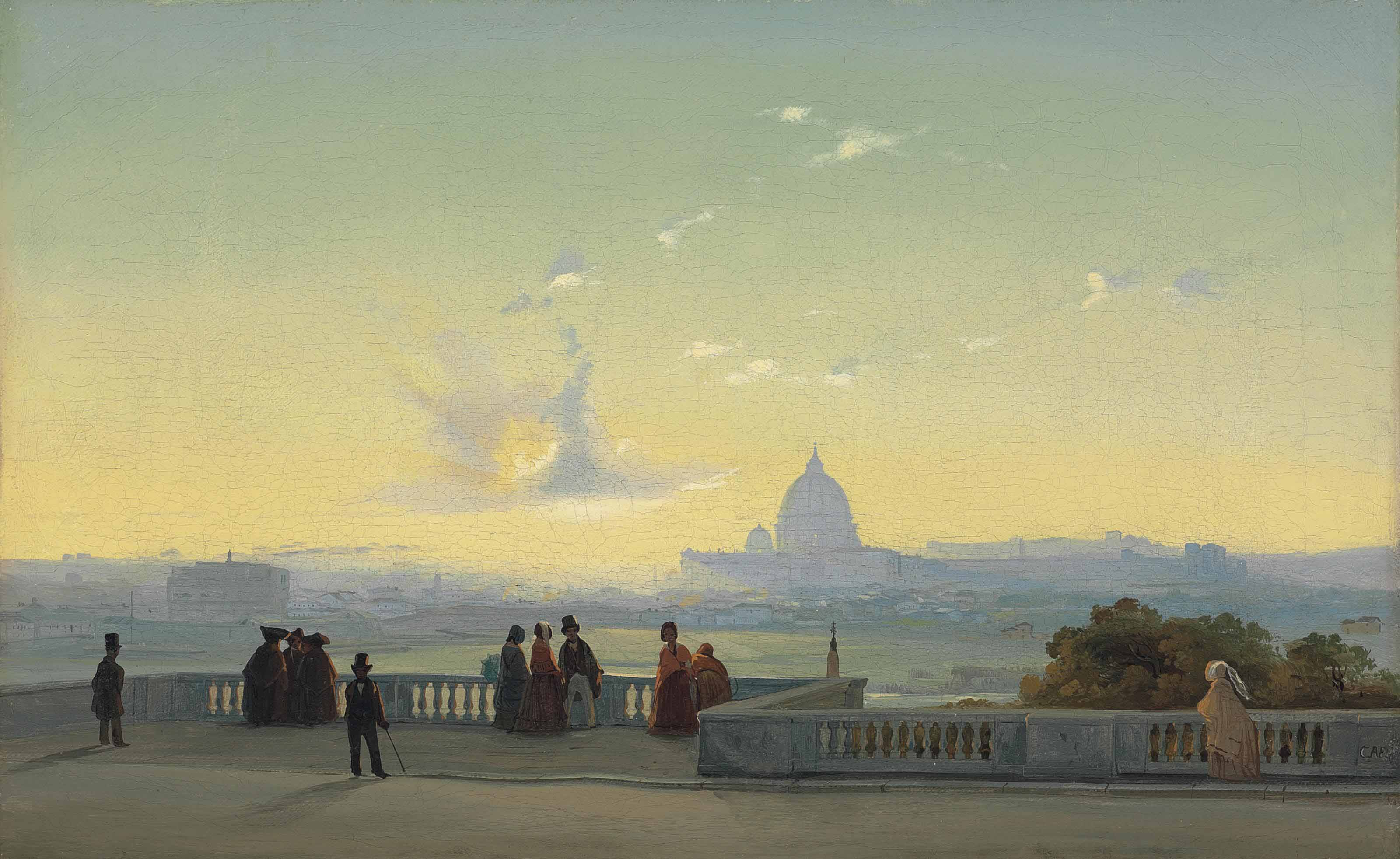 Rome from the Pincio