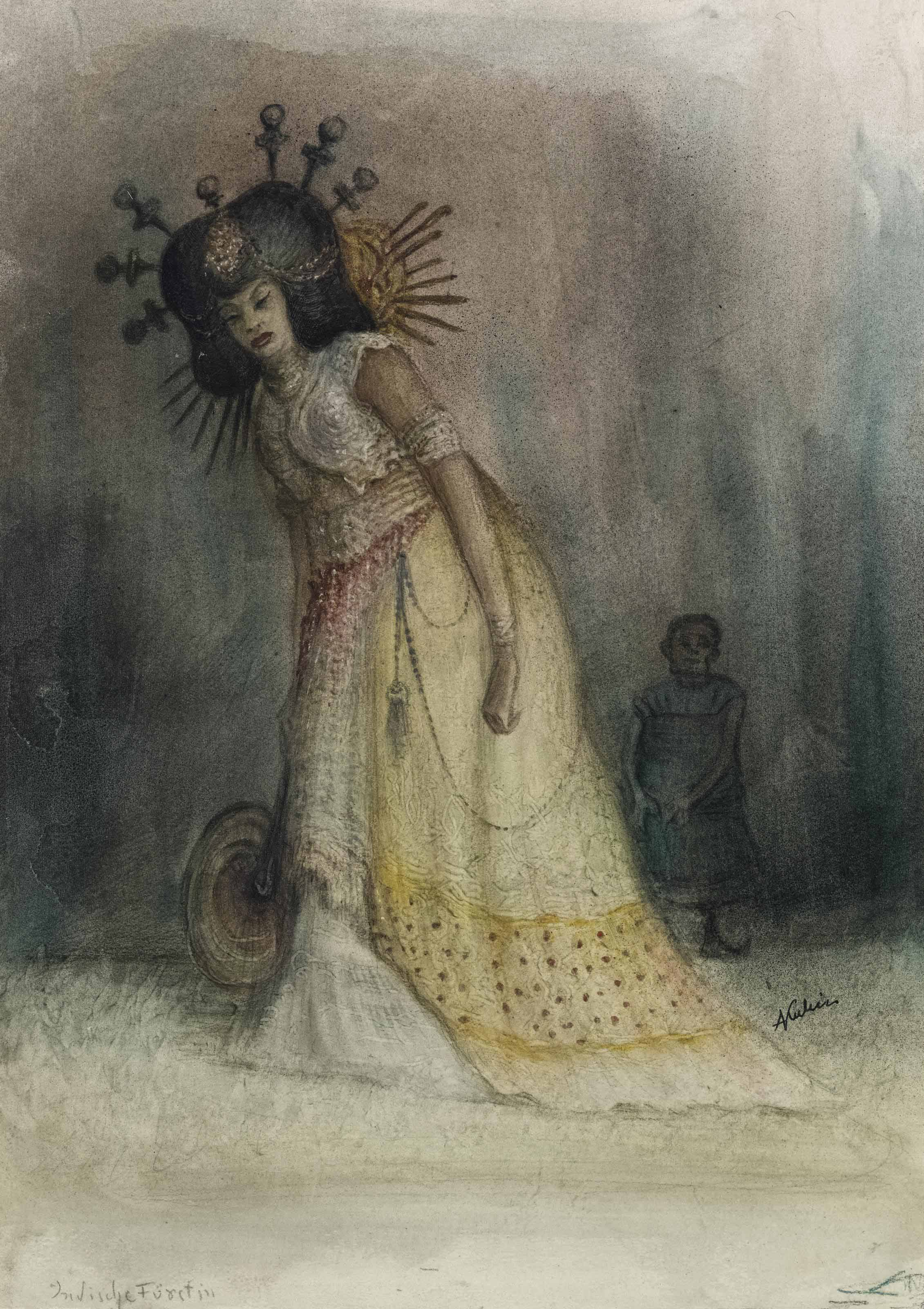 Indische Fürstin