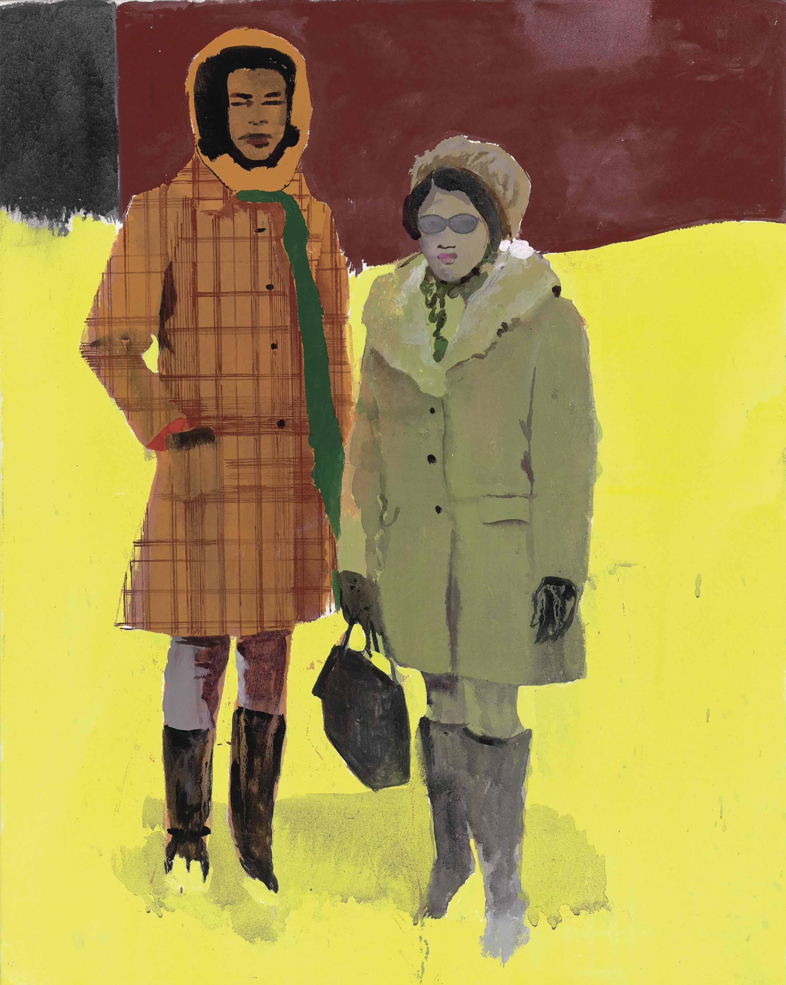 Hurvin Anderson (B. 1965)