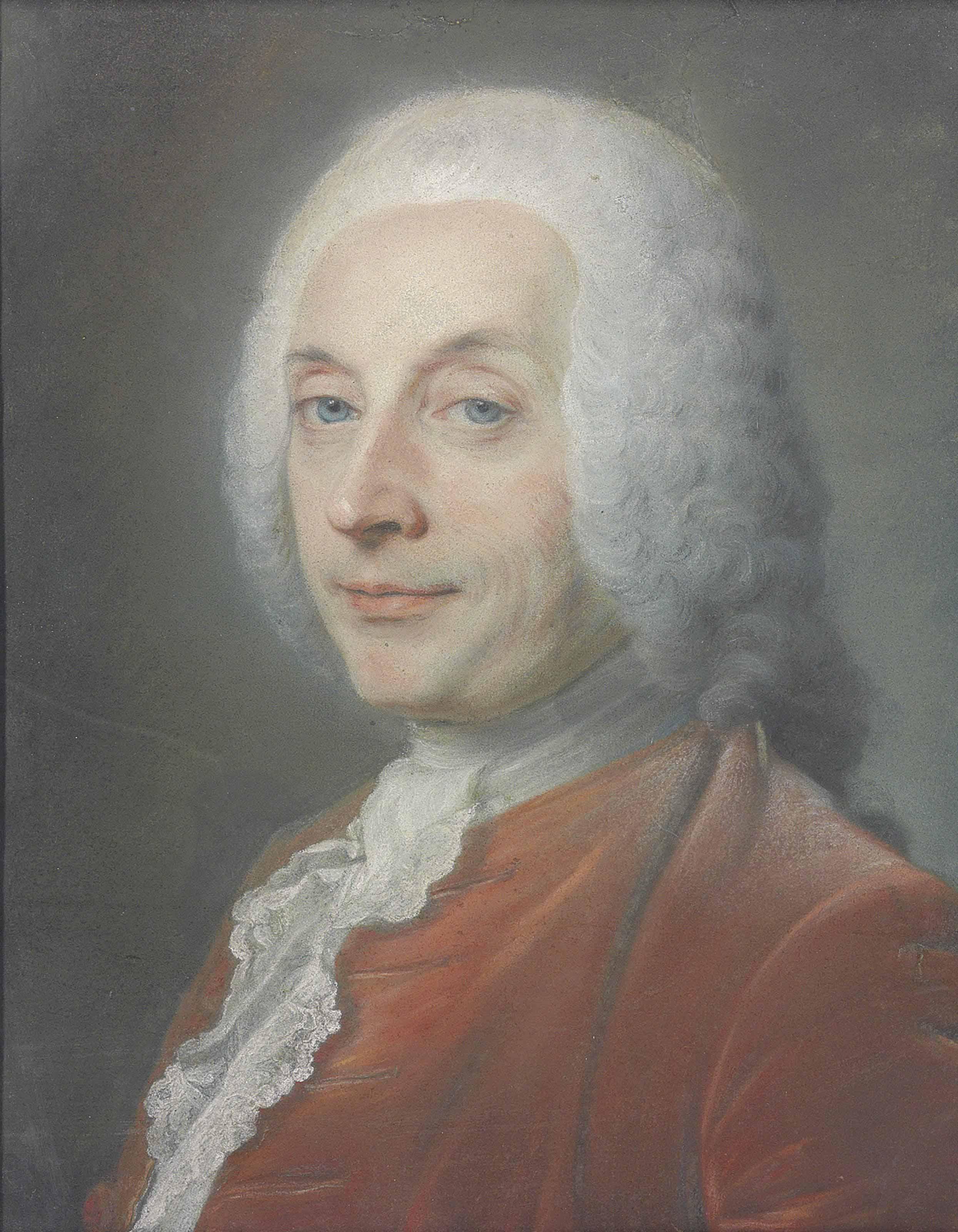 Portrait of François-Augustin de Paradis de Moncrif