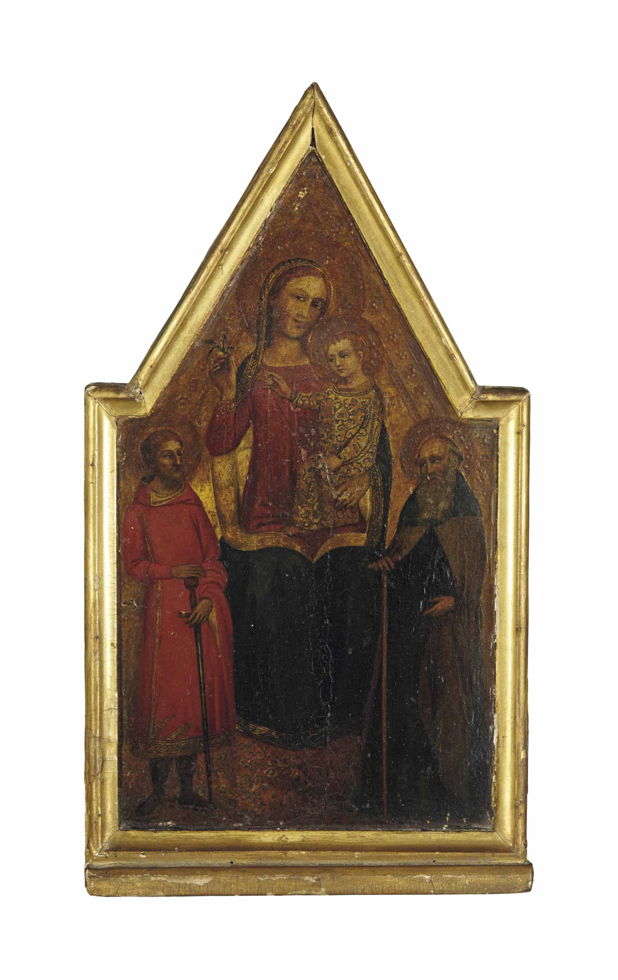 The Madonna and Child enthroned, with Saints Paul and Anthony Abbot