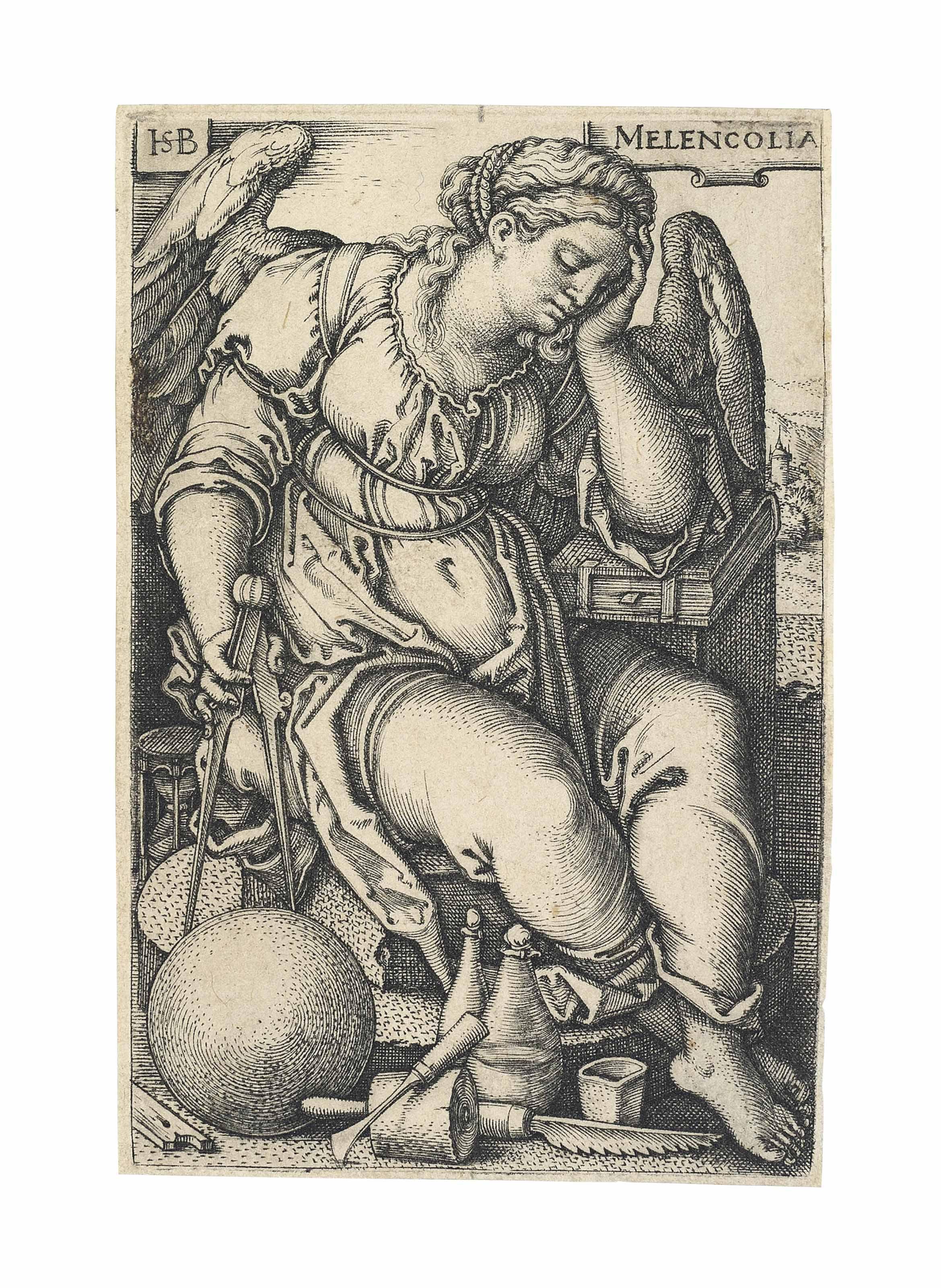 Melencolia (Bartsch 144; Hollstein, Pauli 145)