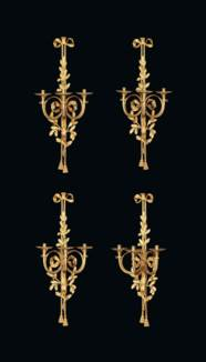 A SET OF FOUR LARGE FRENCH ORM
