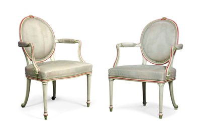 A MATCHED PAIR OF GEORGE III P