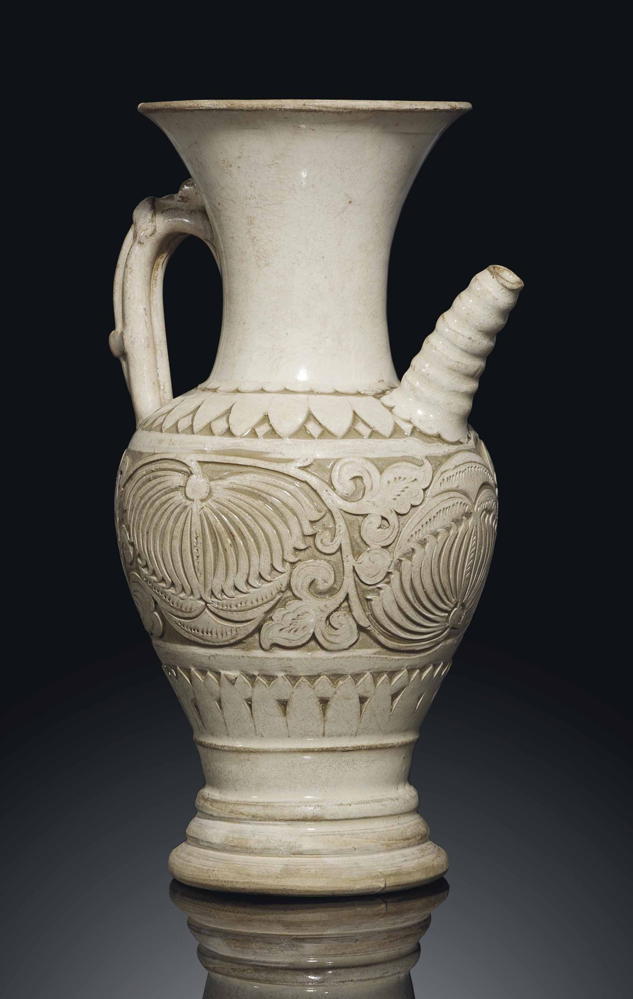 A rare cizhou carved ewer northern song dynasty 10th 11th a rare cizhou carved ewer reviewsmspy