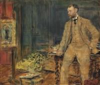 Portrait of the artist William Dannat