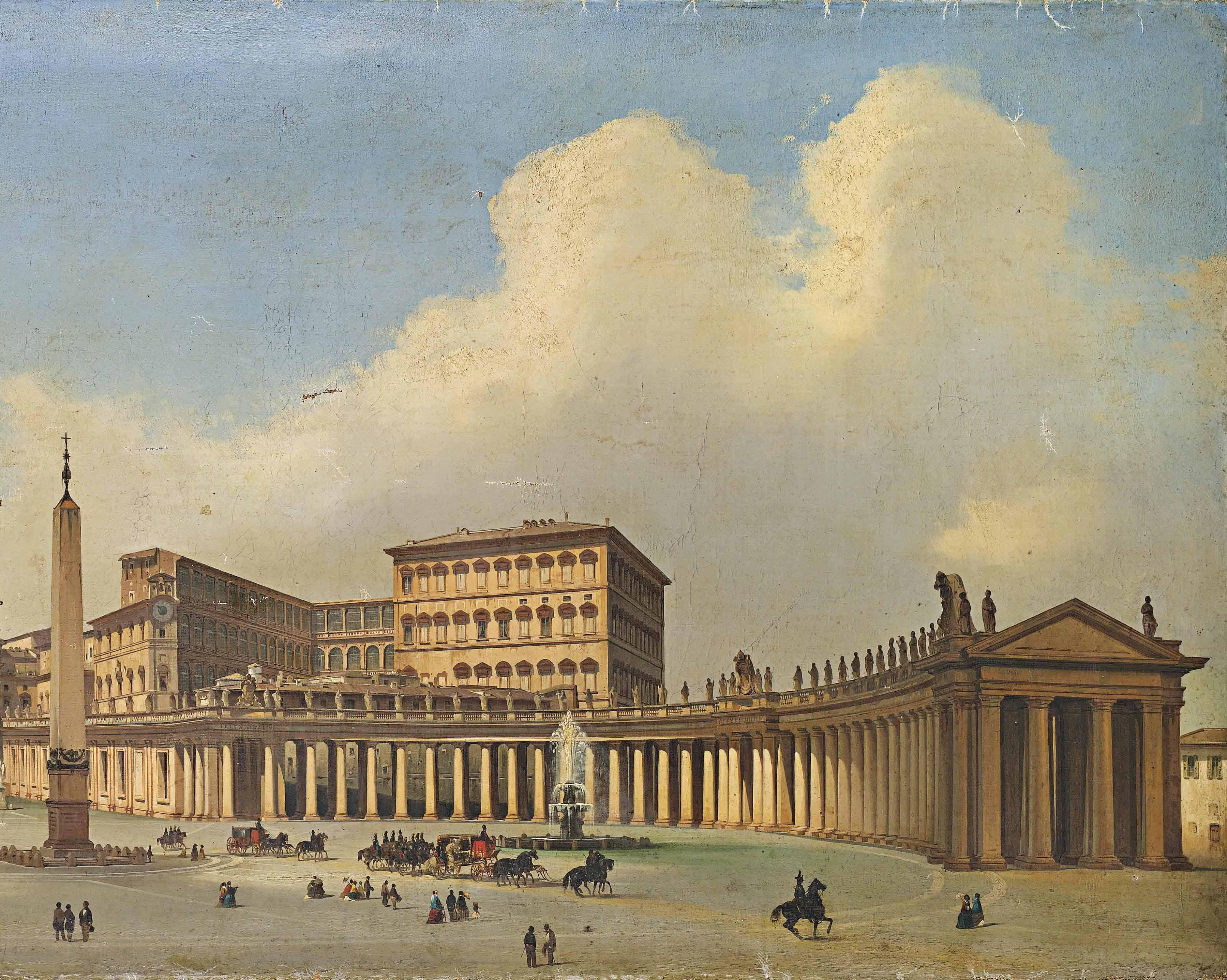 Piazza San Pietro, Rome
