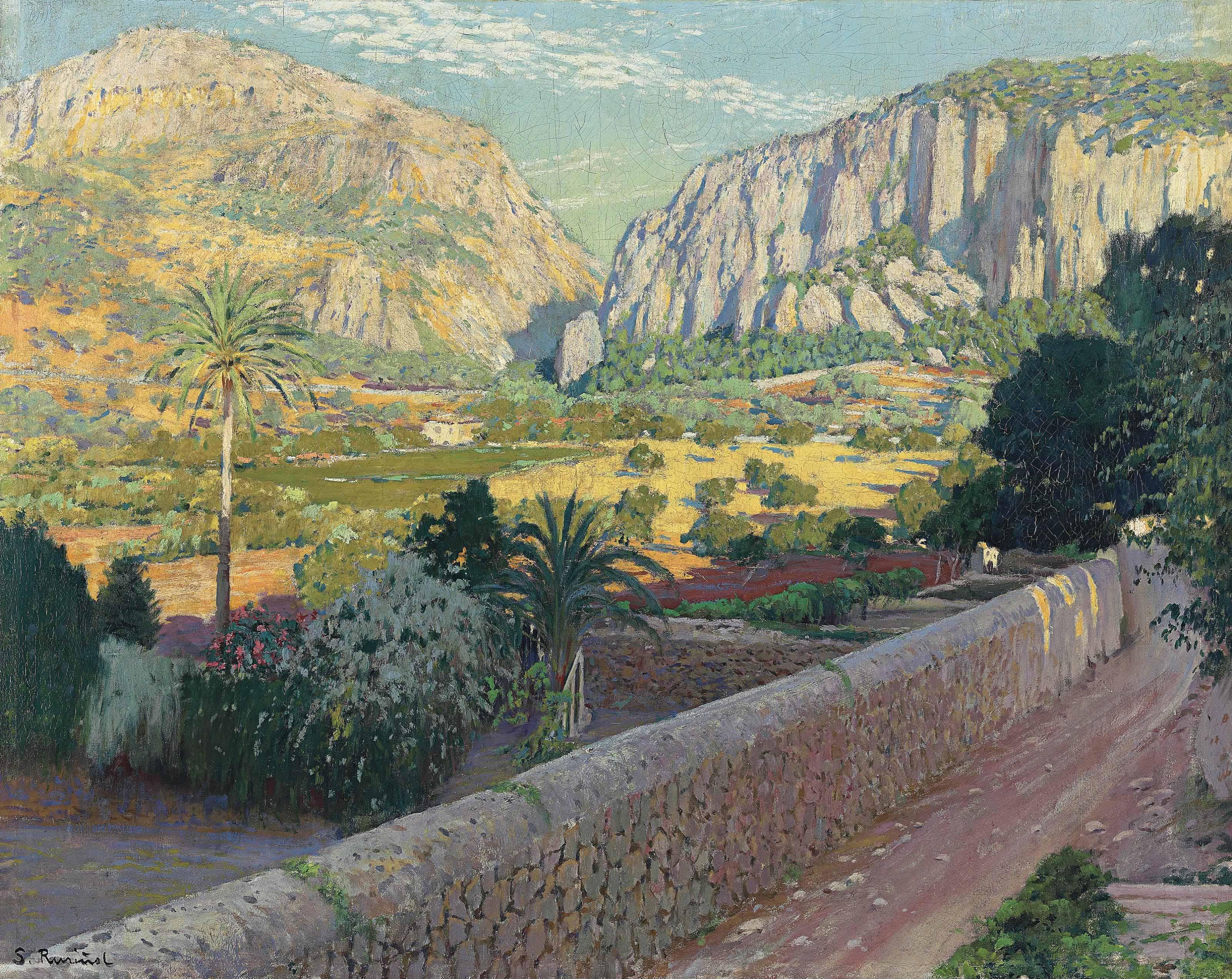L'estret de Valldemossa, Mallorca