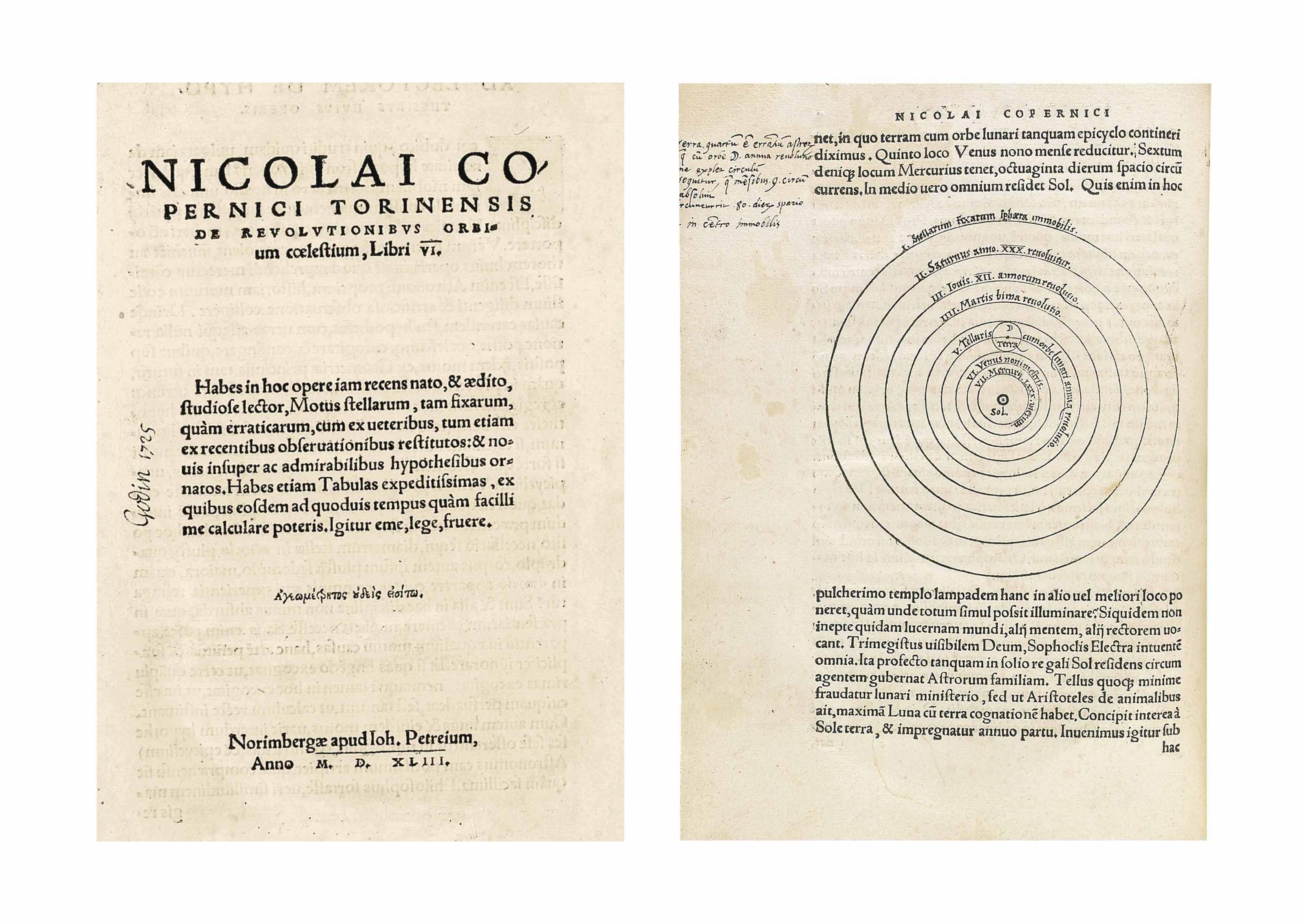 Audio: De revolutionibus orbium coelestium, libri VI by Nicolaus Copernicus