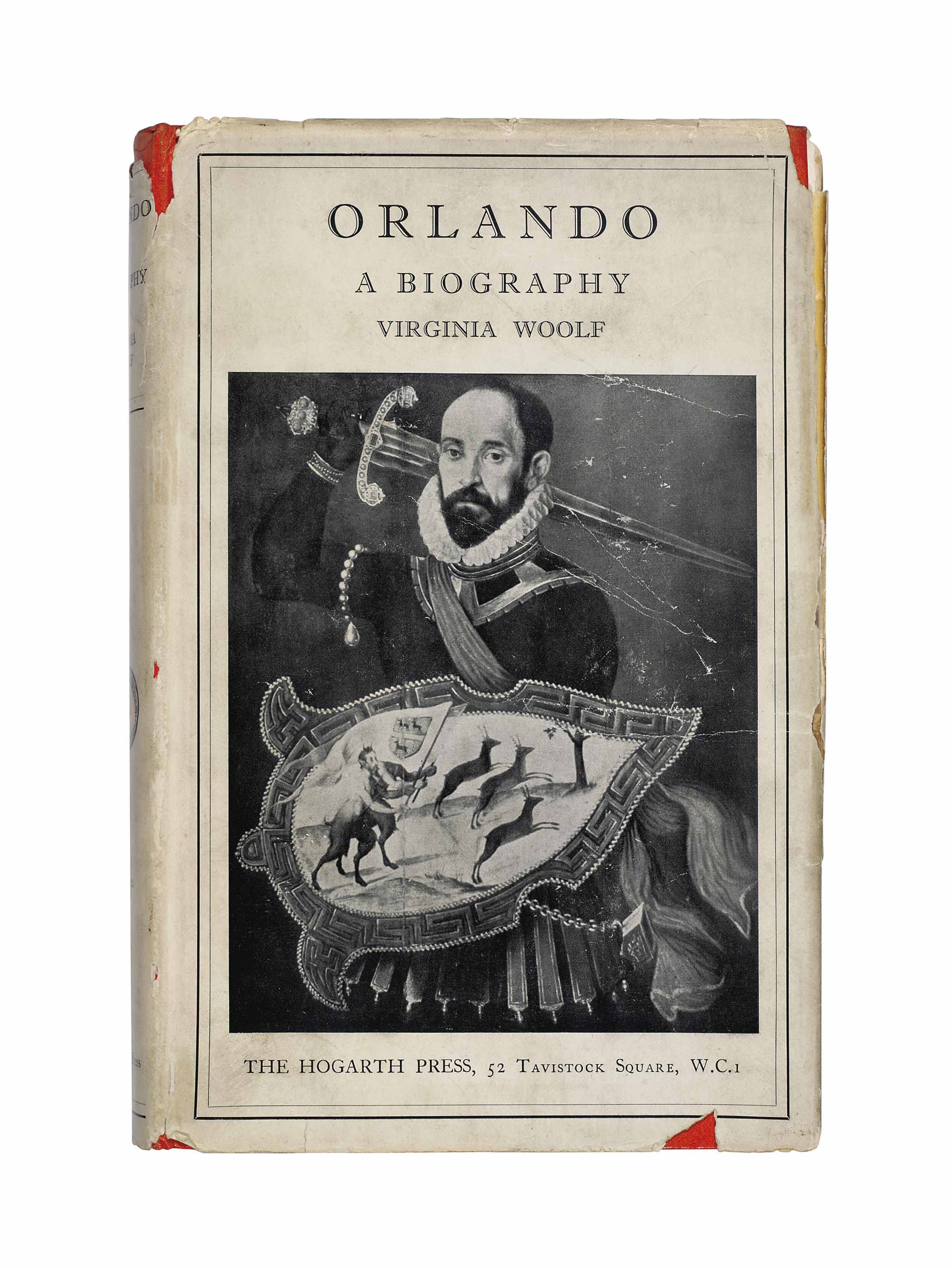 WOOLF, Virginia (1882-1941). Orlando. London: The Hogarth Press, 1928.
