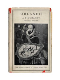 WOOLF, Virginia (1882-1941). Orlando. London: The Hogarth Press, 1928.
