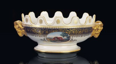 A PORCELAIN MONTEITH FROM THE