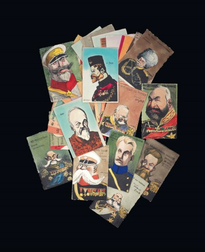 A SELECTION OF CARICATURE PORT