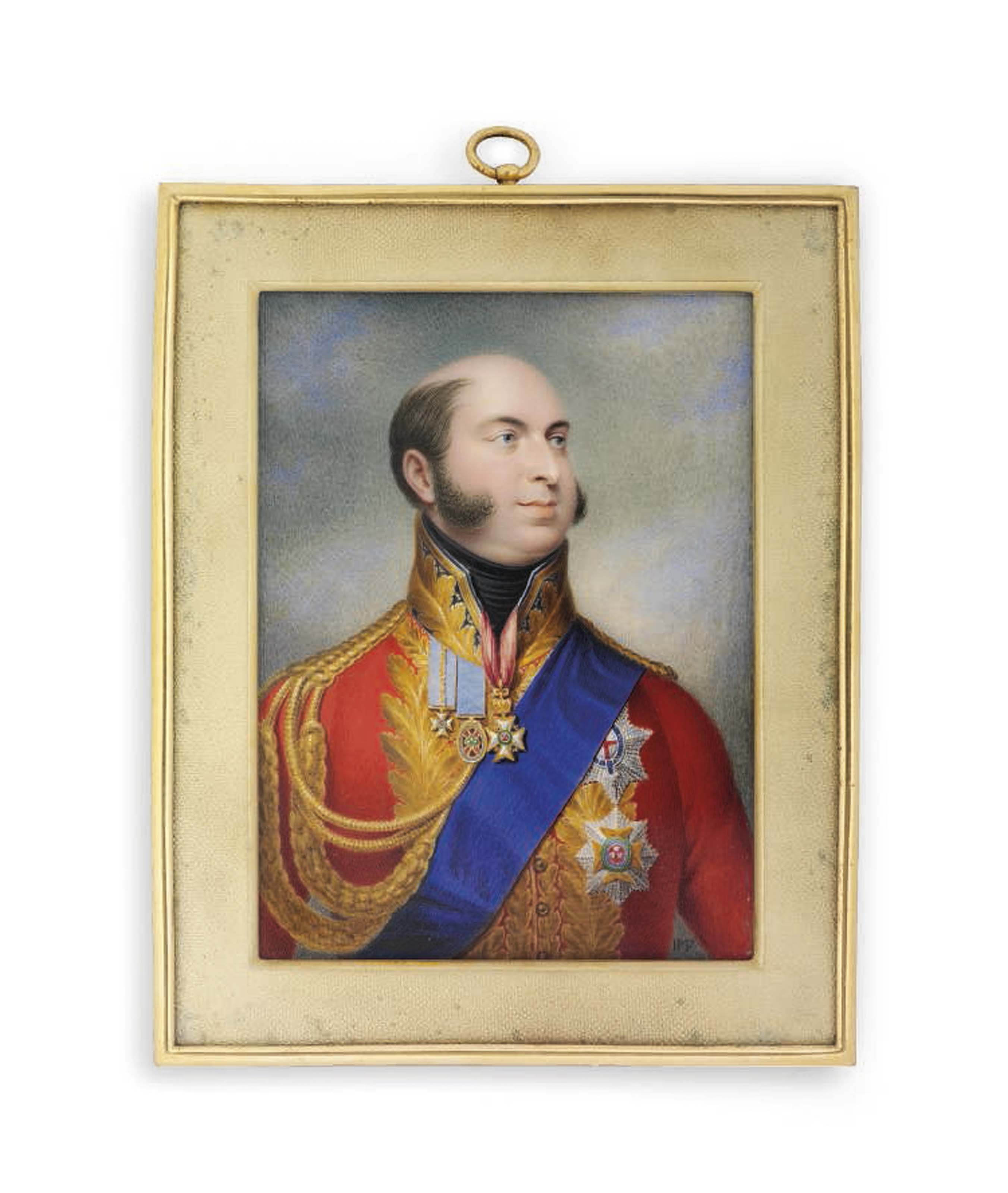 JOHANN GEORG PAUL FISCHER (ANGLO-GERMAN, 1786-1875)