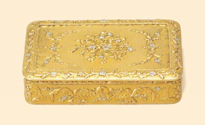 AN AUSTRIAN VARI-COLOUR GOLD S