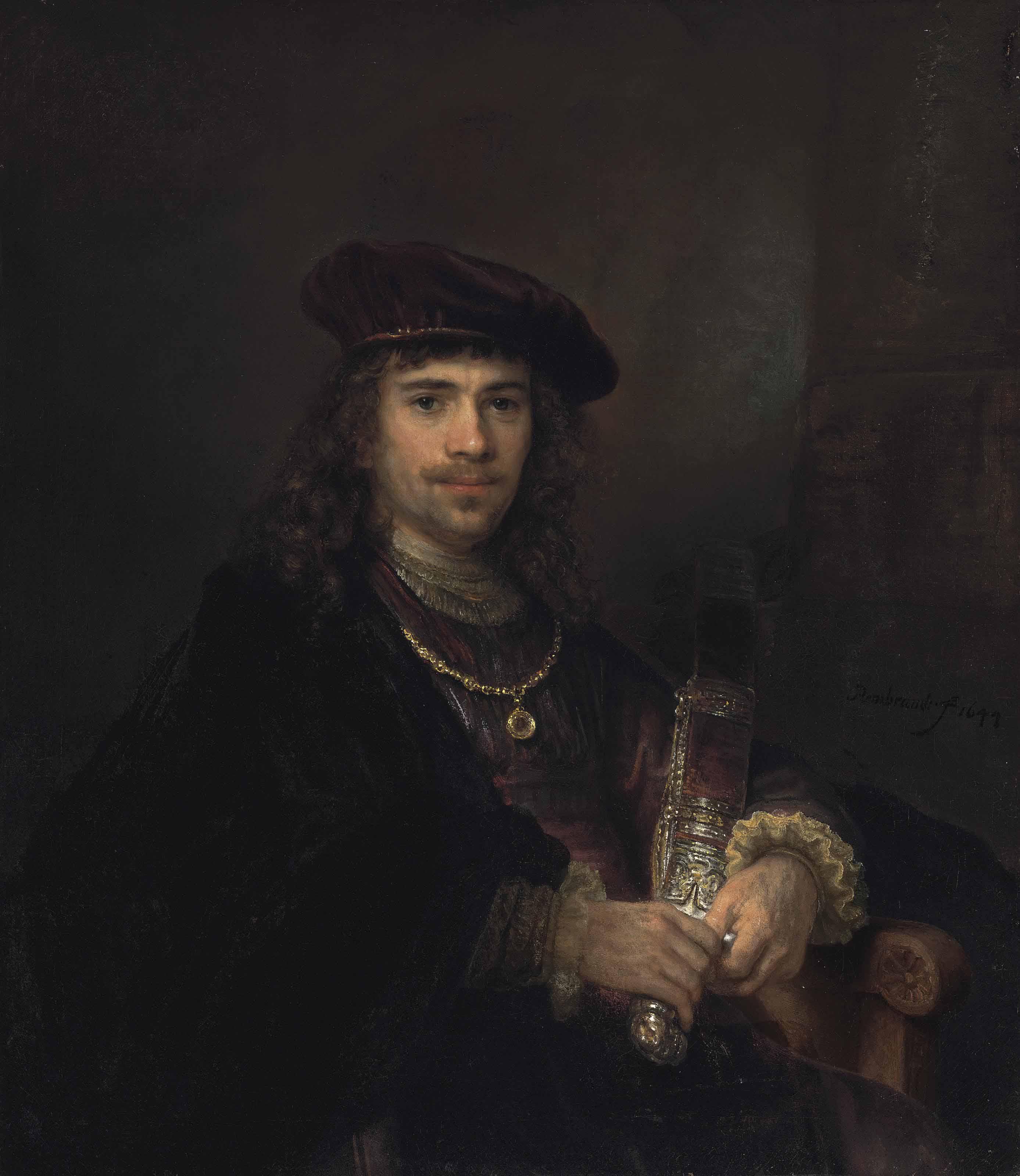 Audio: Rembrandt Harmensz. van Rijn (Leiden 1606-1669 Amsterdam) and Studio, Man with a Sword