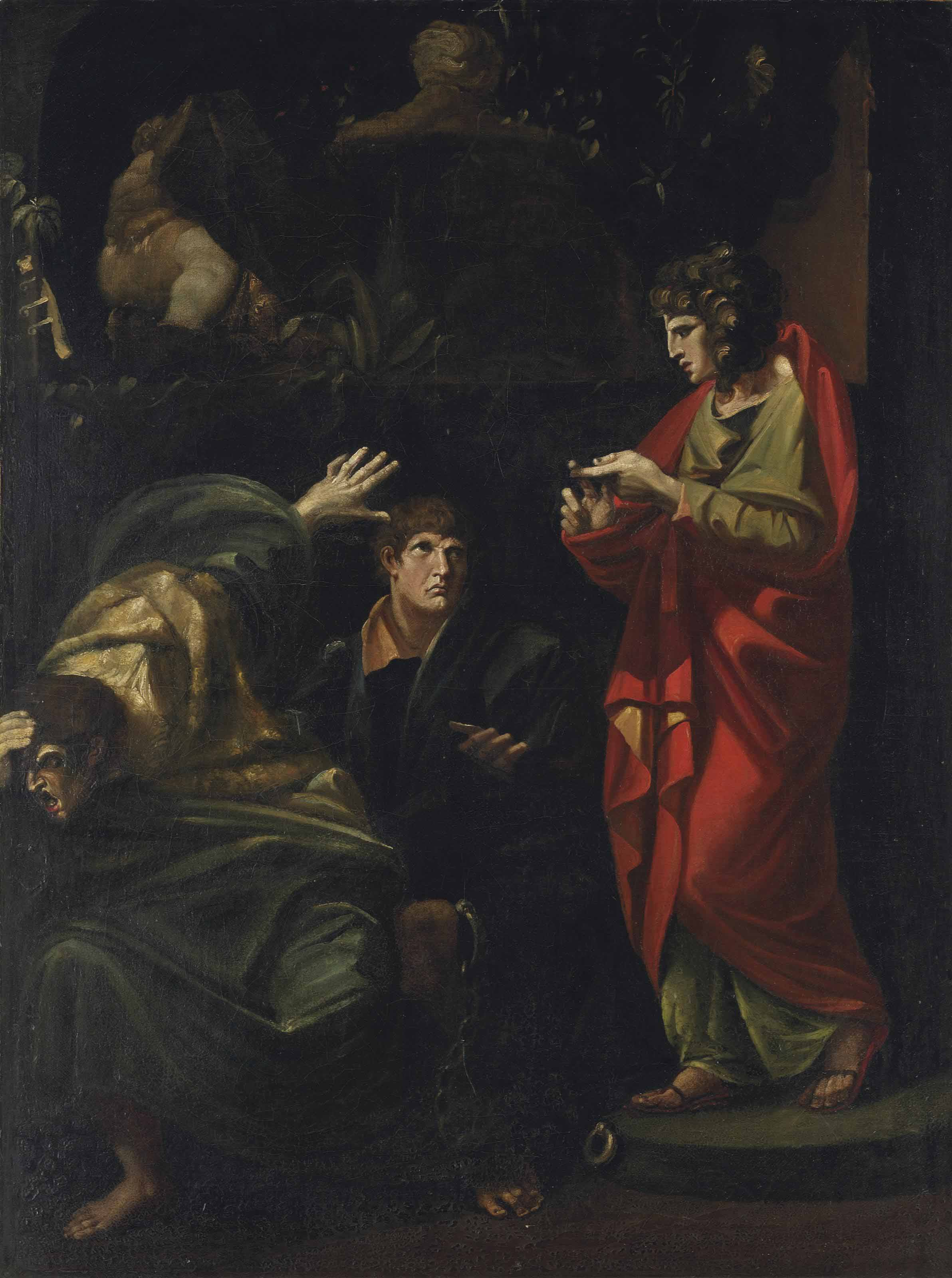 Joseph interpreting the Dreams of the Pharaoh's Baker and Butler