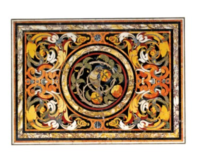 A SOUTH ITALIAN ORMOLU-MOUNTED