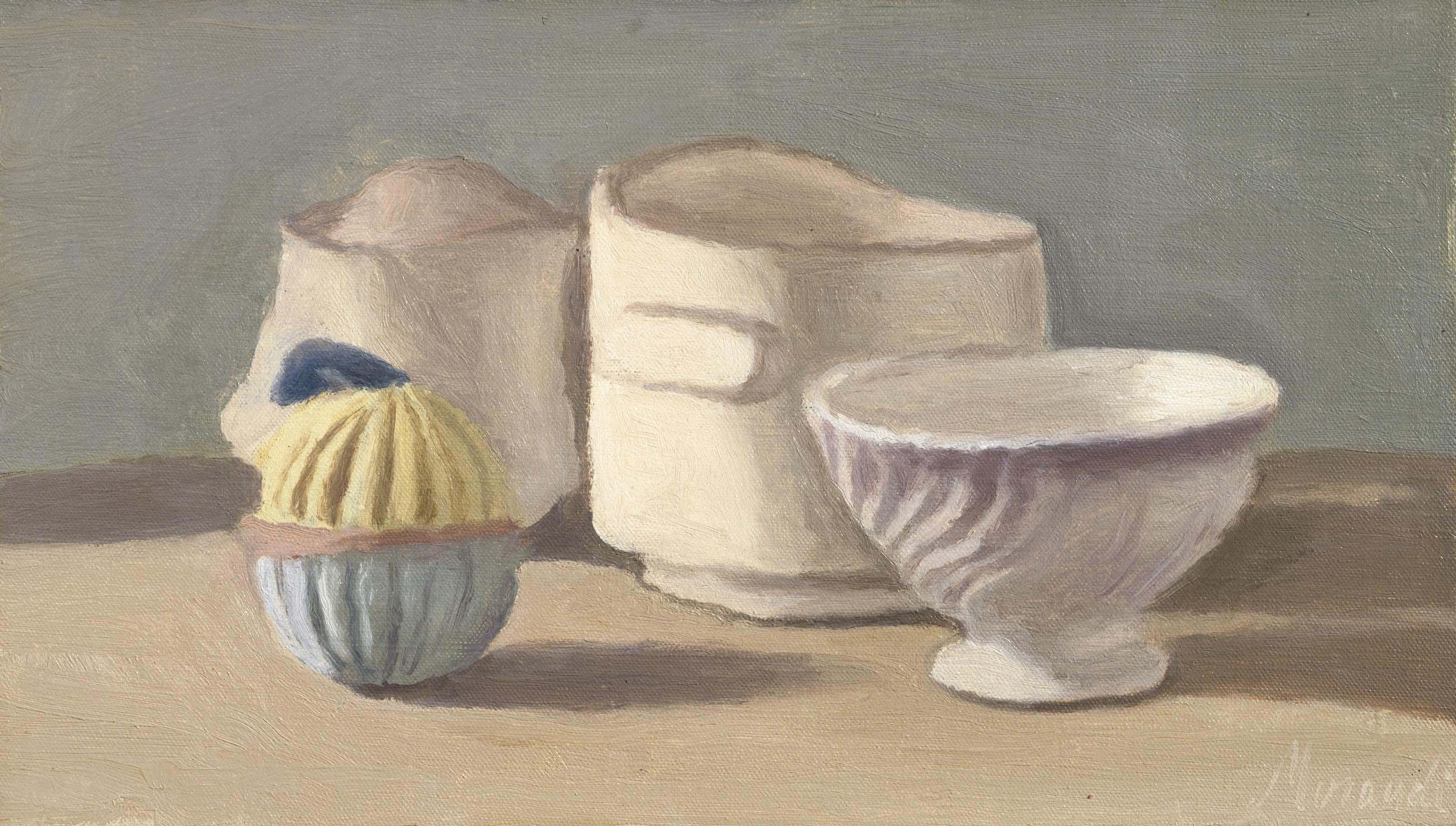 Giorgio Morandi (1890-1964) , Natura morta