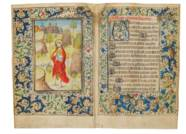 BOOK OF HOURS, use of Sarum, i