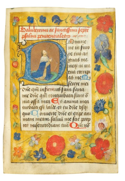 BOOK OF HOURS, unidentified us