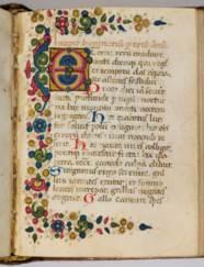 PSALTER, for Cistercian use, i
