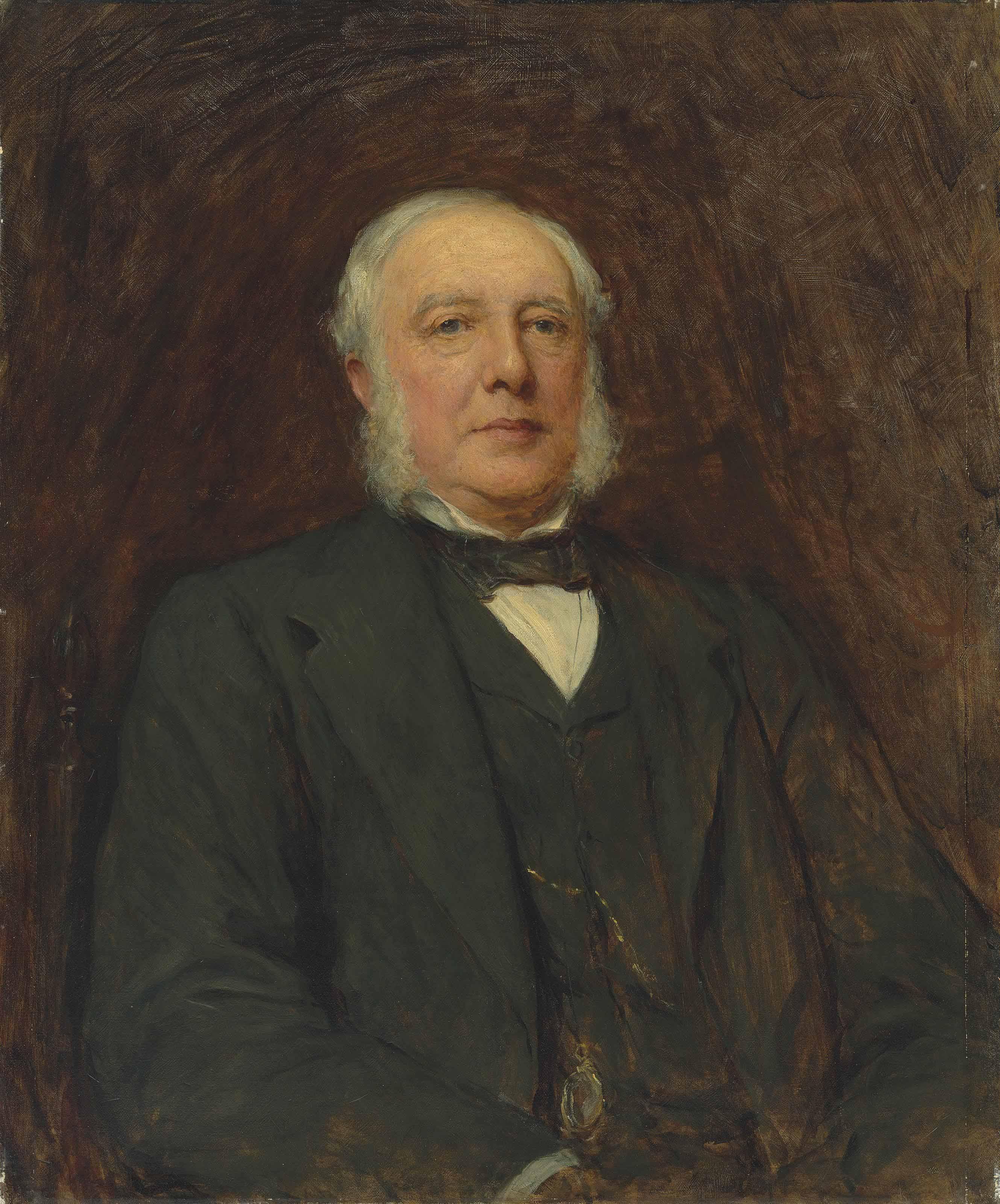 Portrait of Sir William Agnew, 1st Bt. (1825-1910)