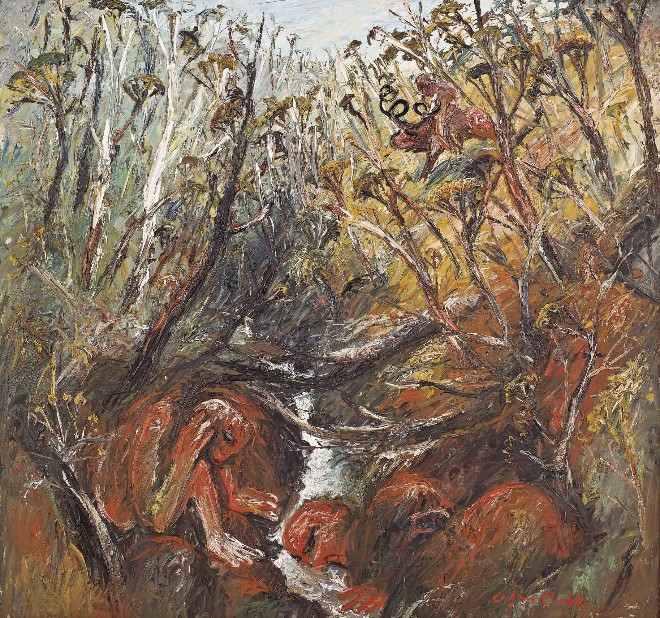 Hunter by a creek (1966)