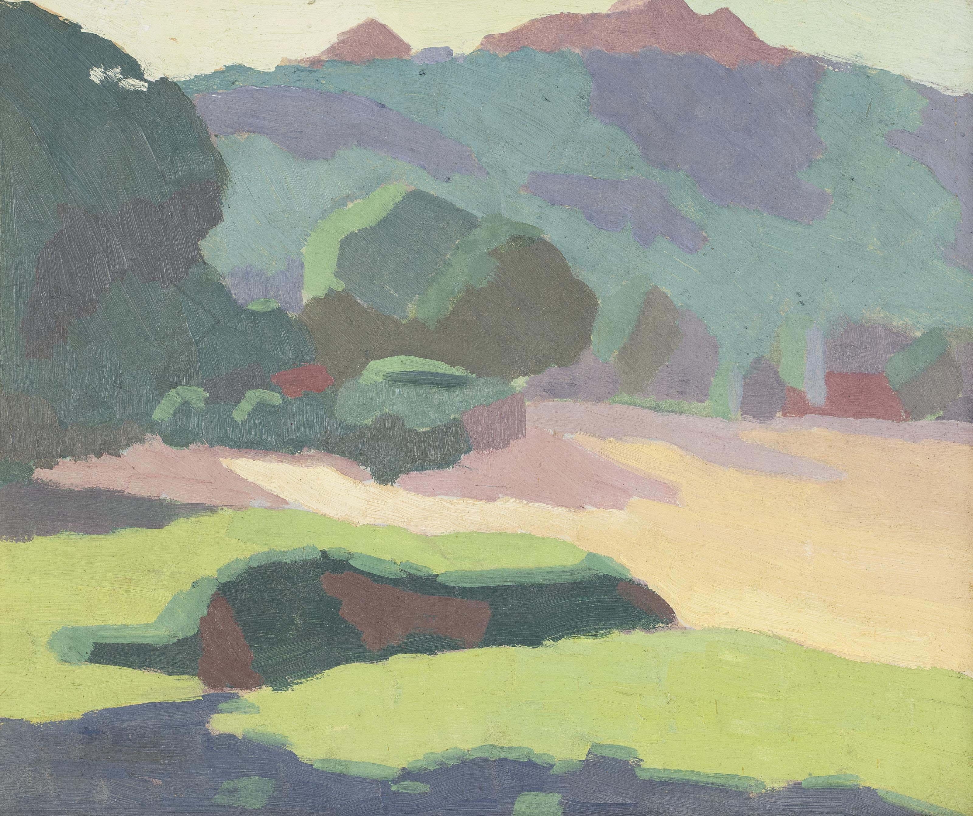 Landscape, 1919